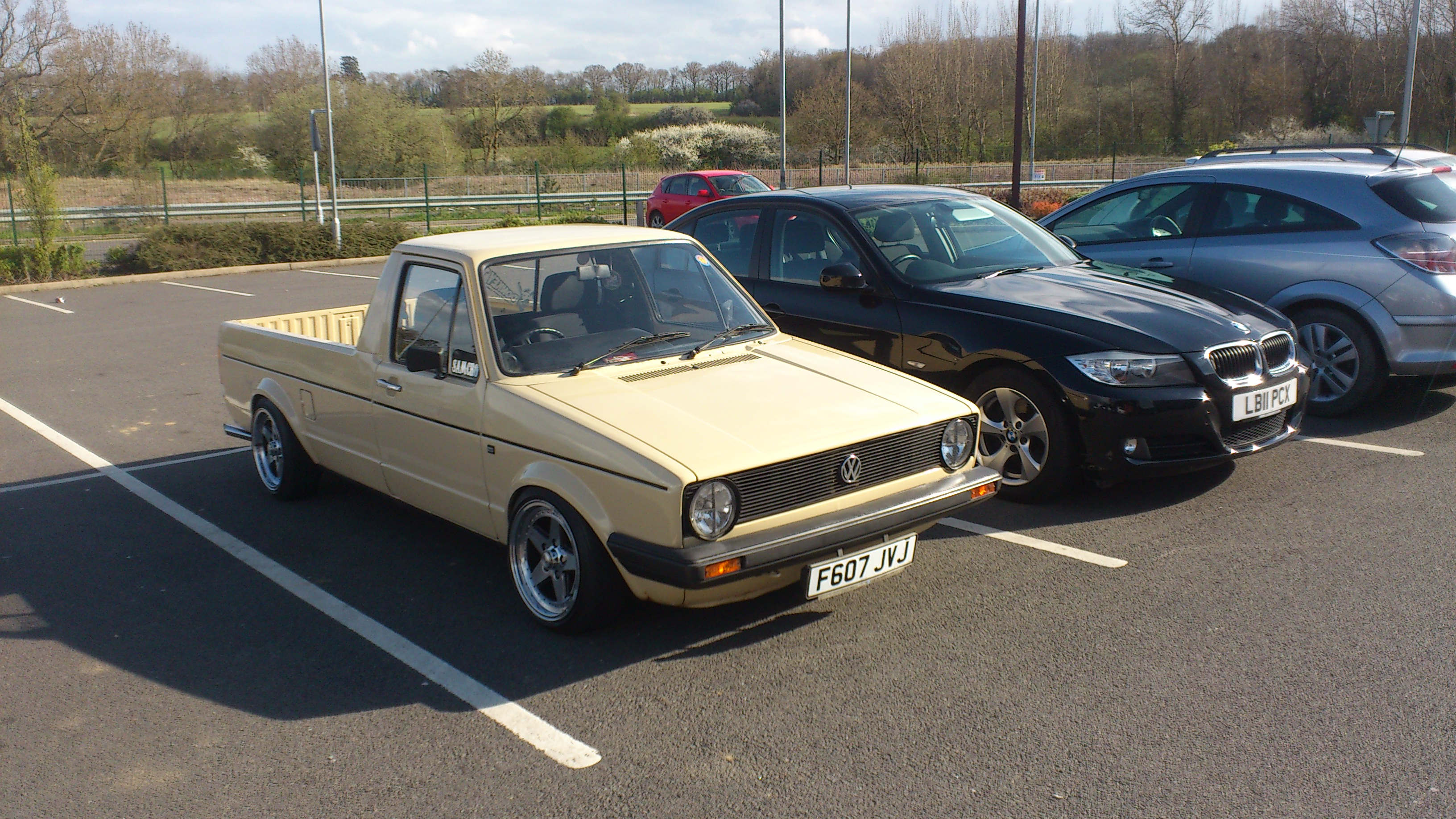 Spotted A Sweet Mk1 Golf Pick Up In Corby Today