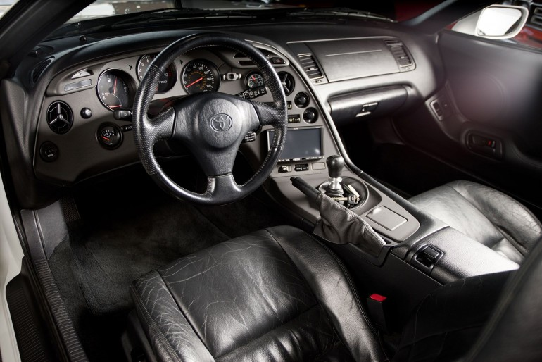 paul 39 s supra is so clean even the interior is stock i like it a lot. Black Bedroom Furniture Sets. Home Design Ideas