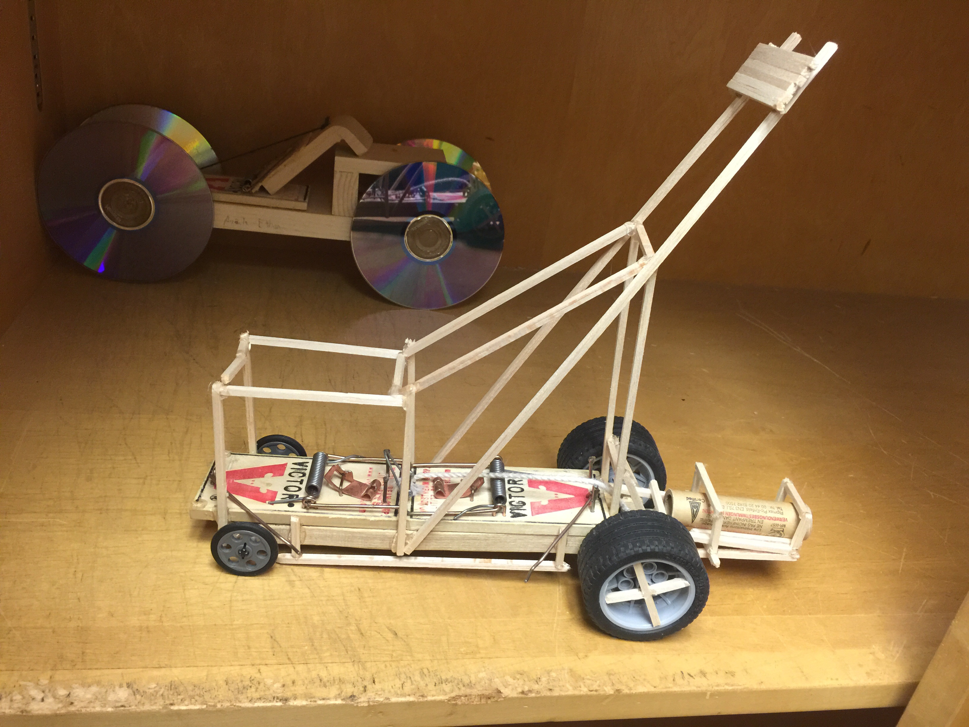 Build Mouse Trap Car Because Racecar