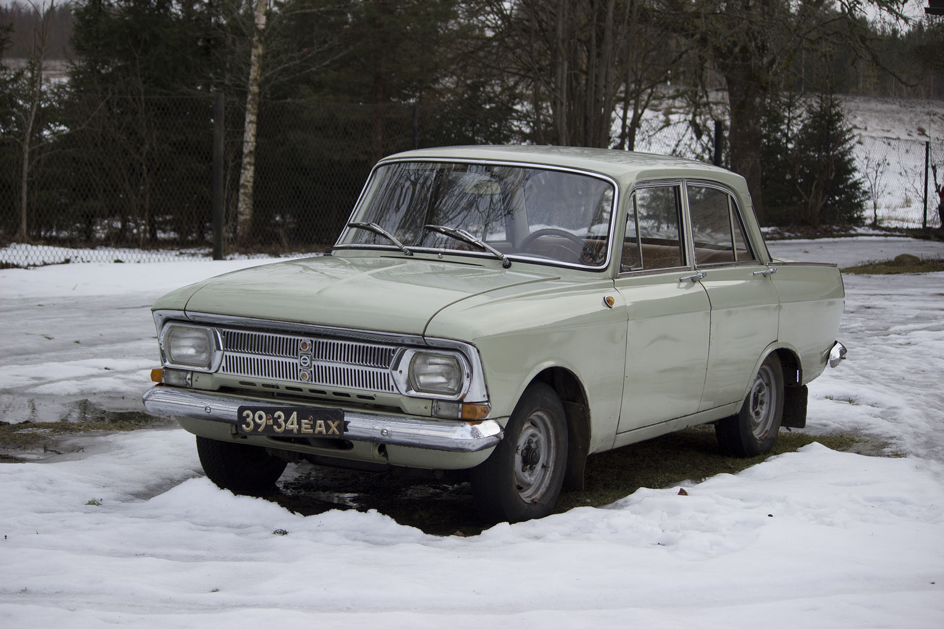 Moskvich 412 vintage soviet car for sale: photos, technical ...