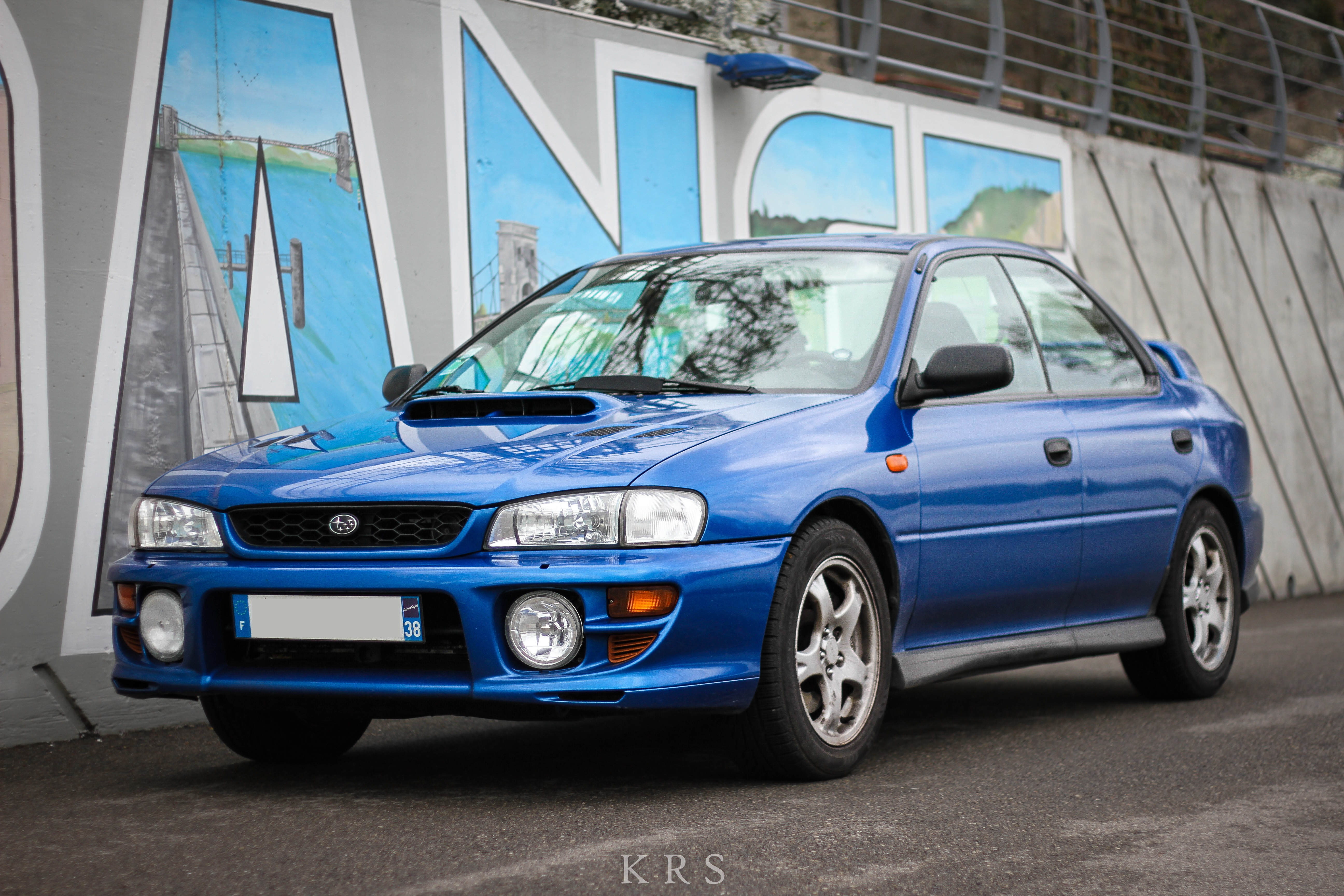 Im Kevin New Here Heres My Stock 99 Subaru Impreza GT 217hp I Love Her Hope You Too If Want To Check Or Friends One