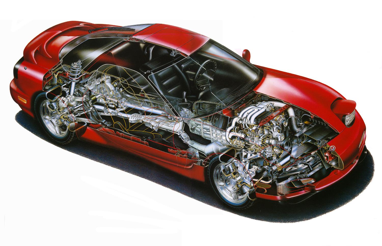 WRG-0325] Rx7 Engine Diagram
