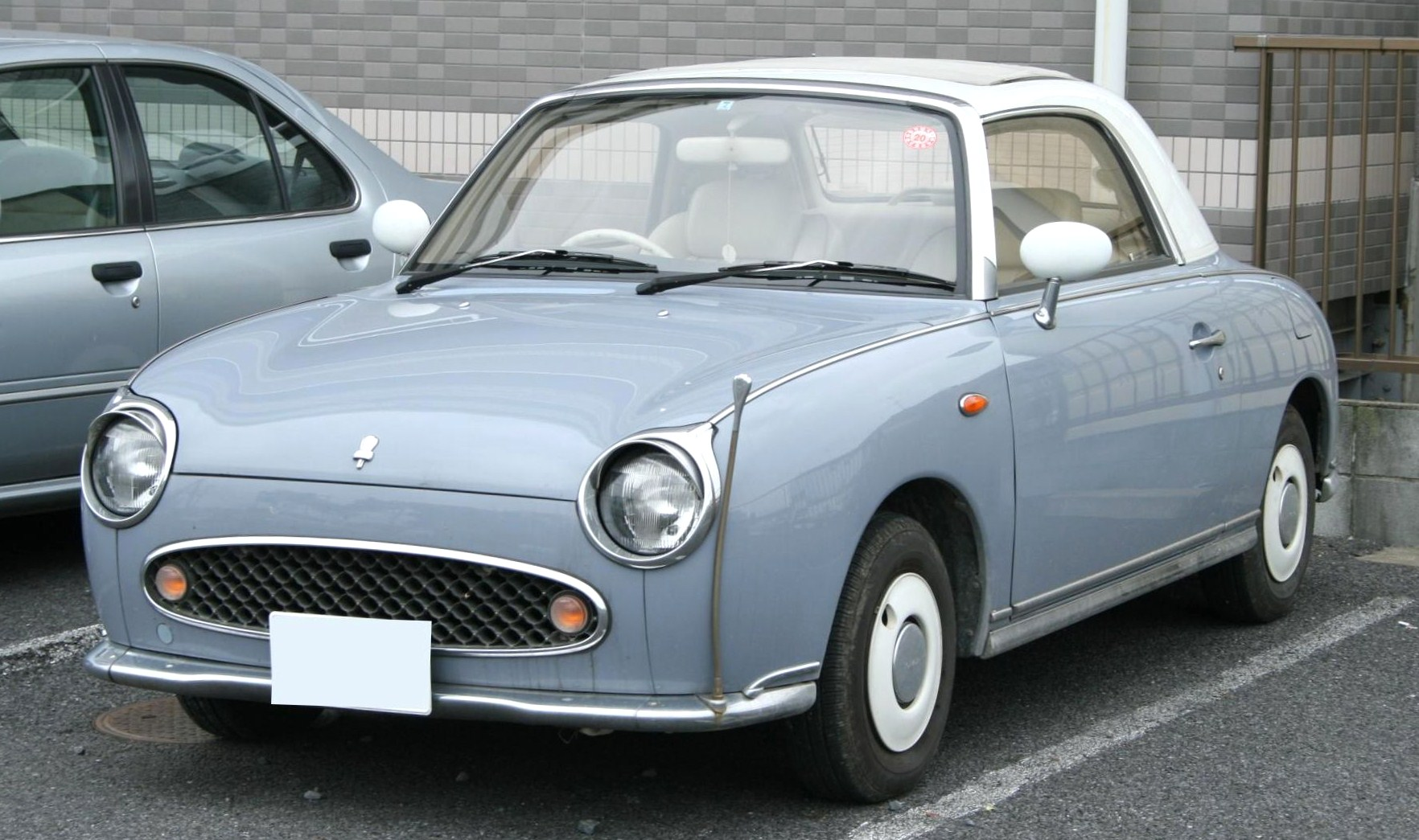 Because i have 91 points, here's a 1991 nissan figaro.