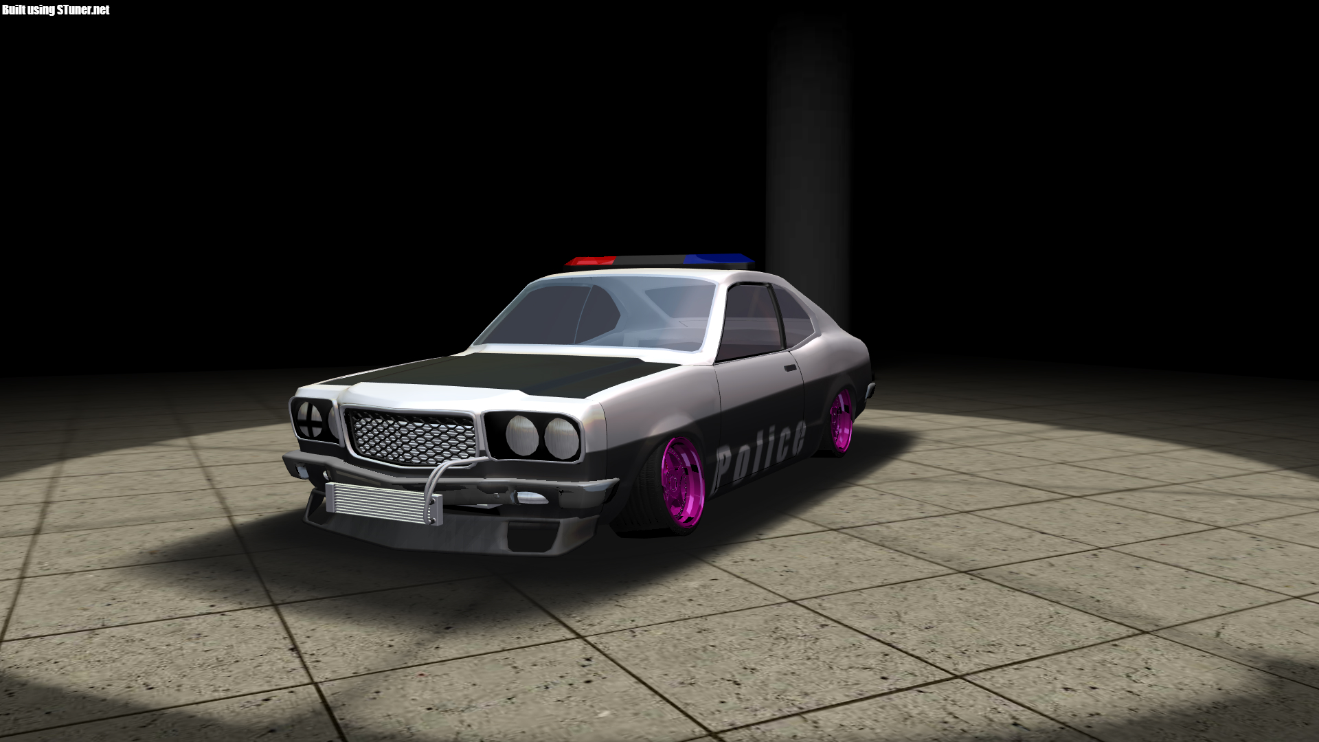 """Made a """"Police style Mazda Rx 3 at"""