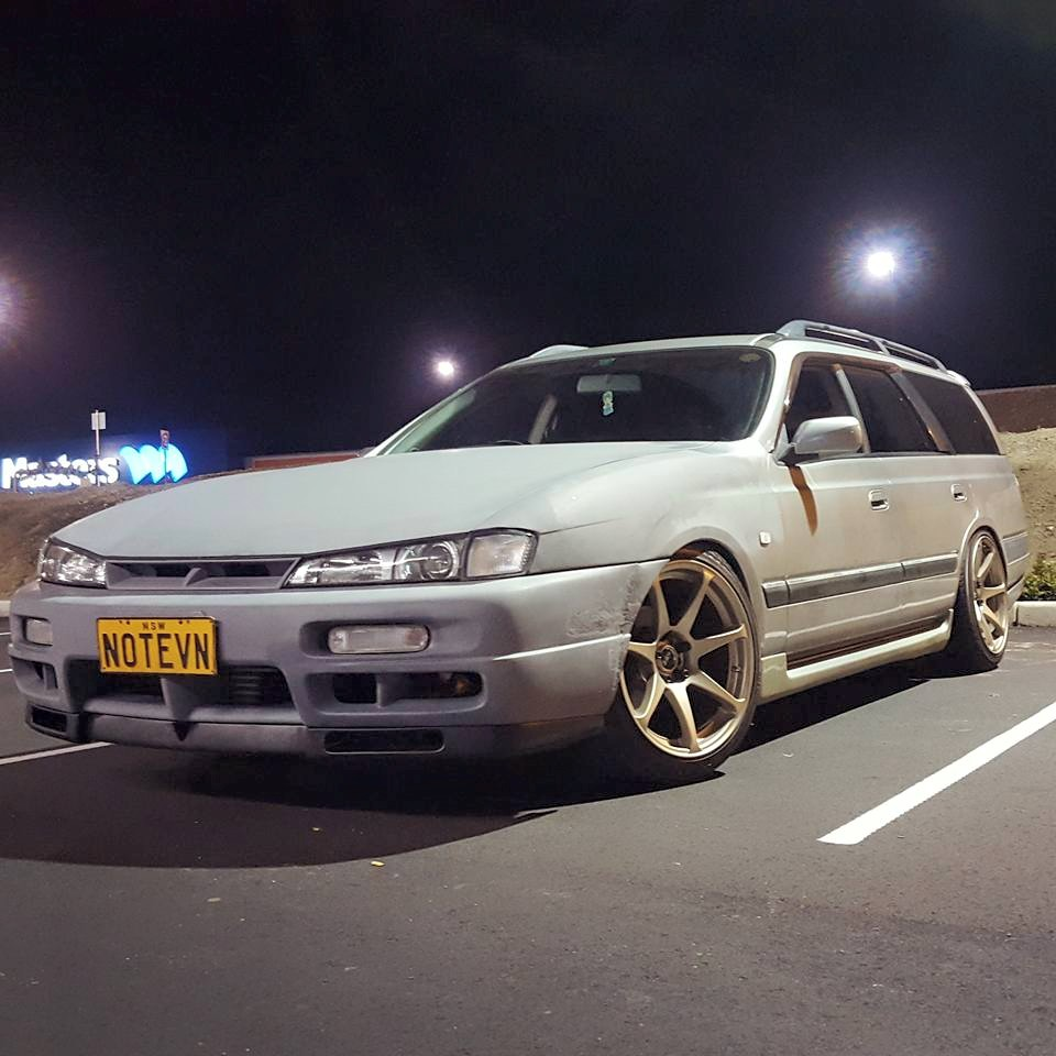 Nissan Stagea With S14 Kouki Front Owner Nathan Petta