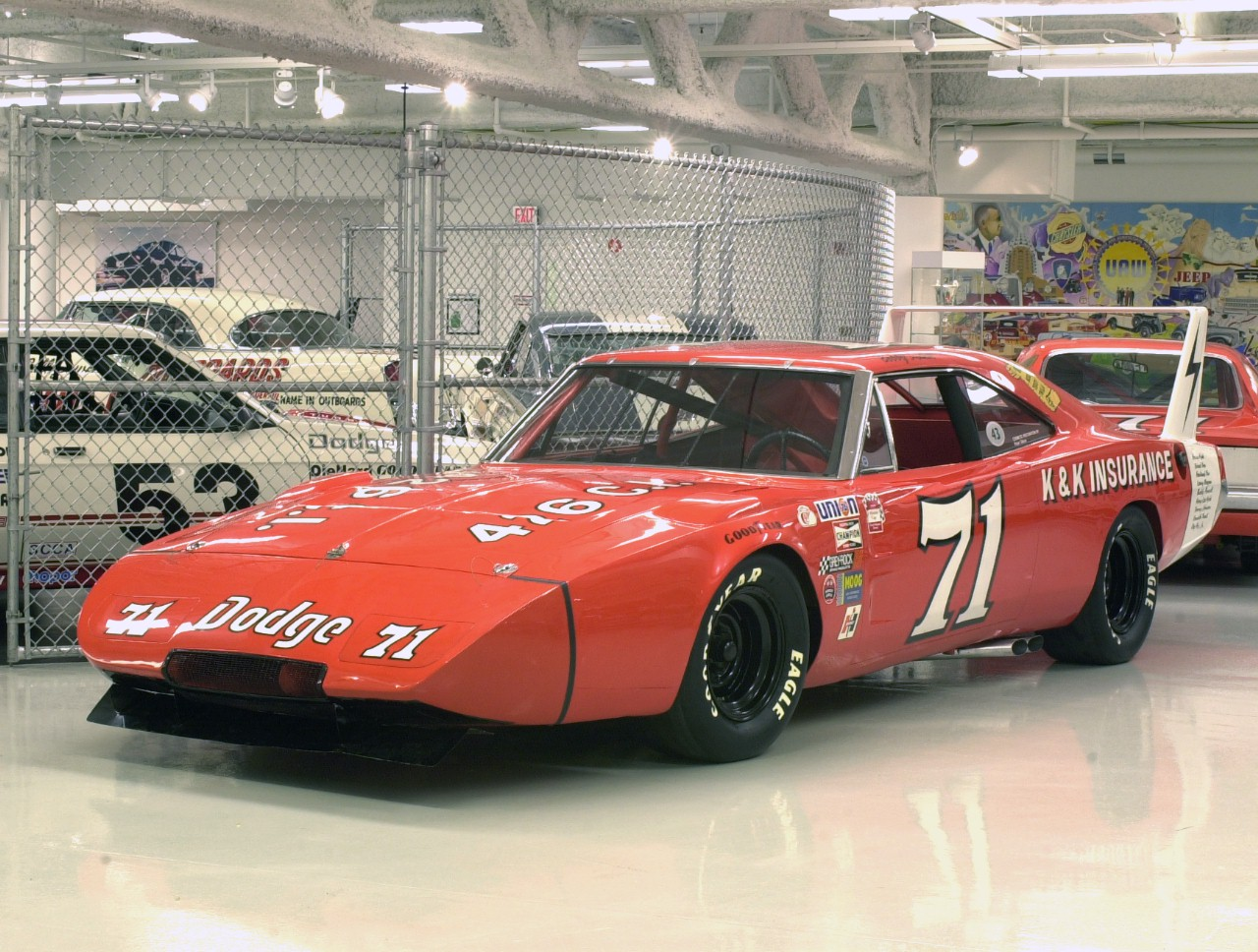 Daily Classic 7 1969 Dodge Charger Daytona Nascar Race Car