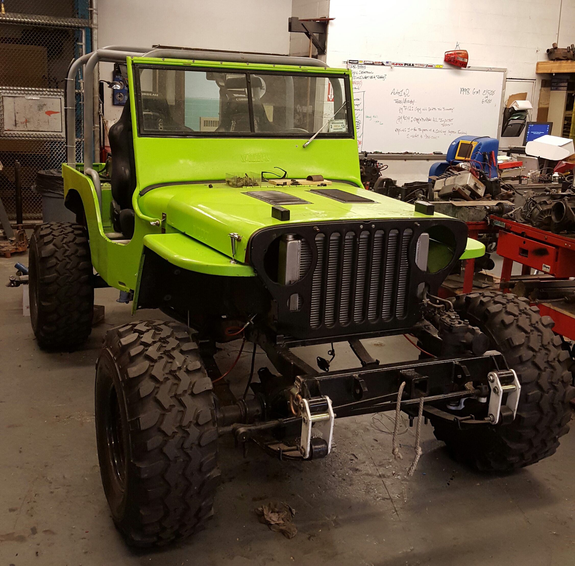 1946 Willys Jeep currently being worked on in my shop ...