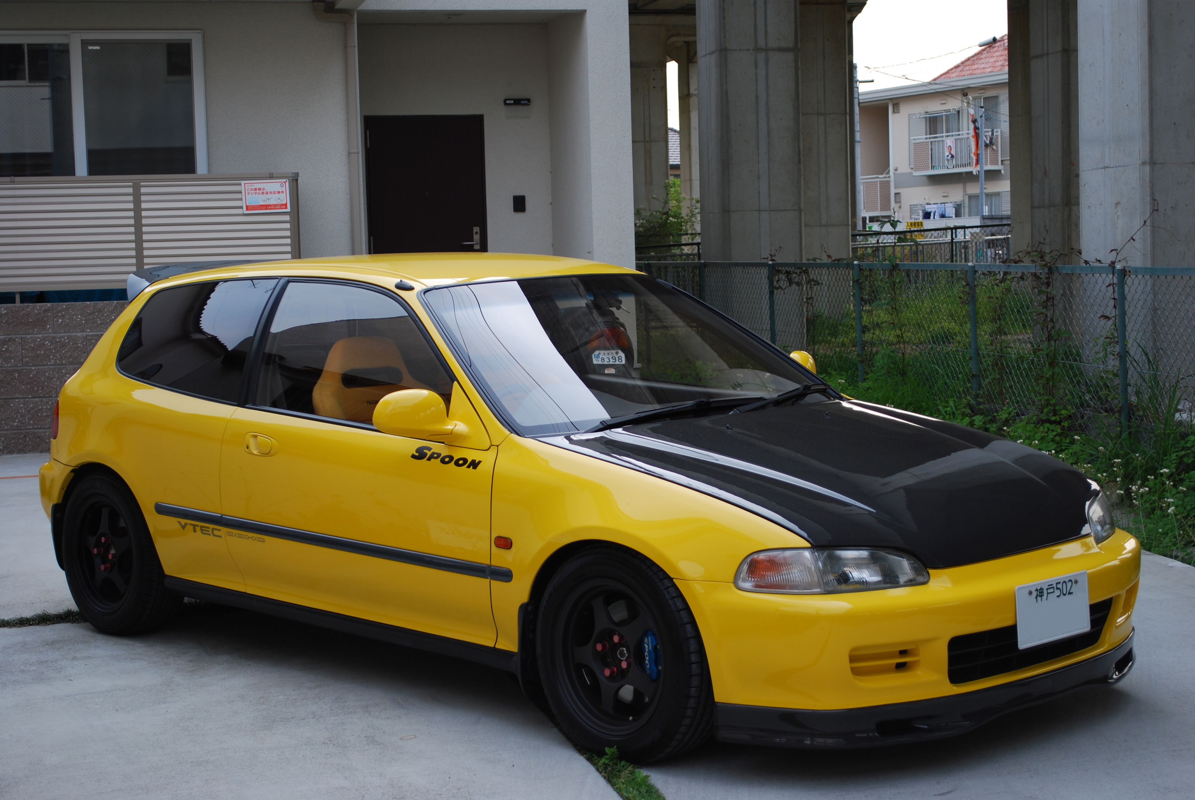 that 39 s one nice honda civic eg spoon sports. Black Bedroom Furniture Sets. Home Design Ideas