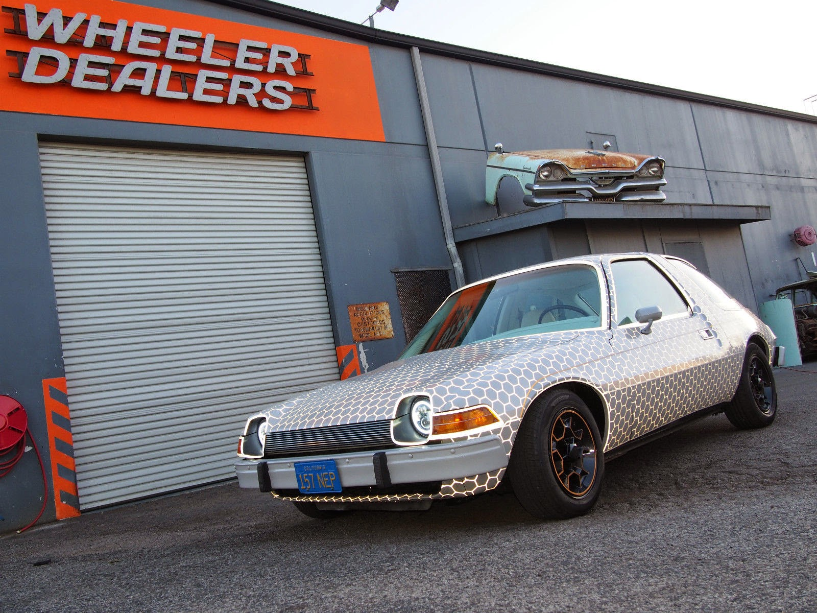 watched  amc pacer episode  wheeler dealers yesterday  spent    wrap