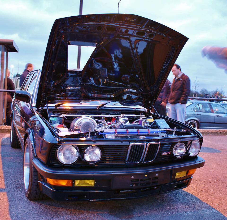 This car is an example of the old school German muscle modified to ...