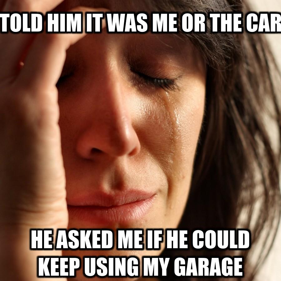 I need work on my car girl