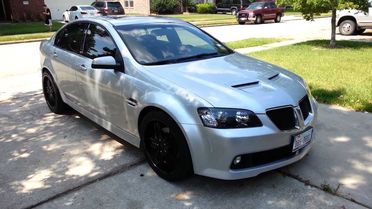 Just wanted to get an opinion on the Pontiac G8/Holden