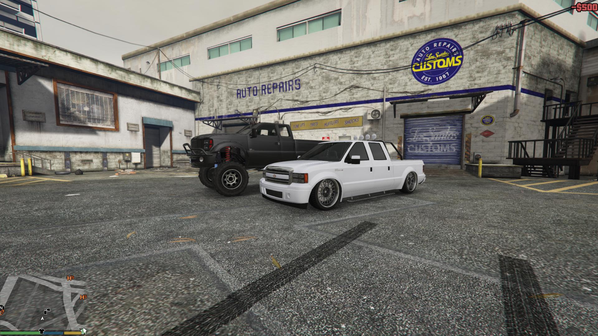 Playing The Handling File In Gta V Made The Sadler Low Truck Have The Speed Of A Veyron And