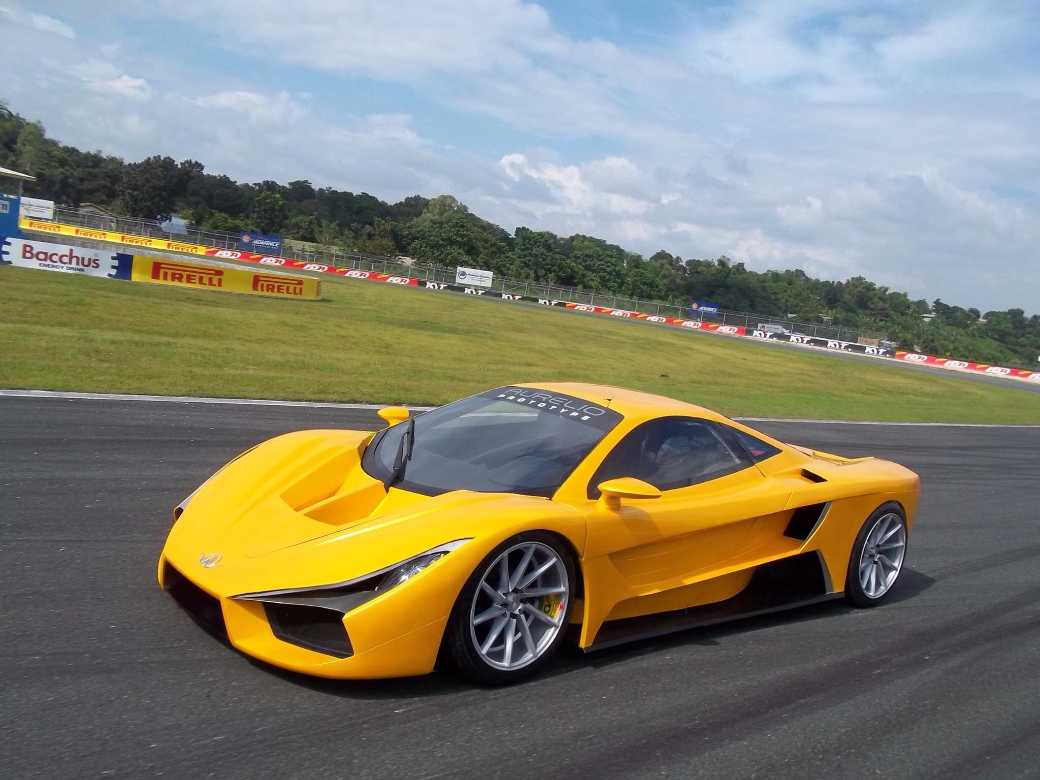 The very first Filipino Supercar, The Factor Aurelio