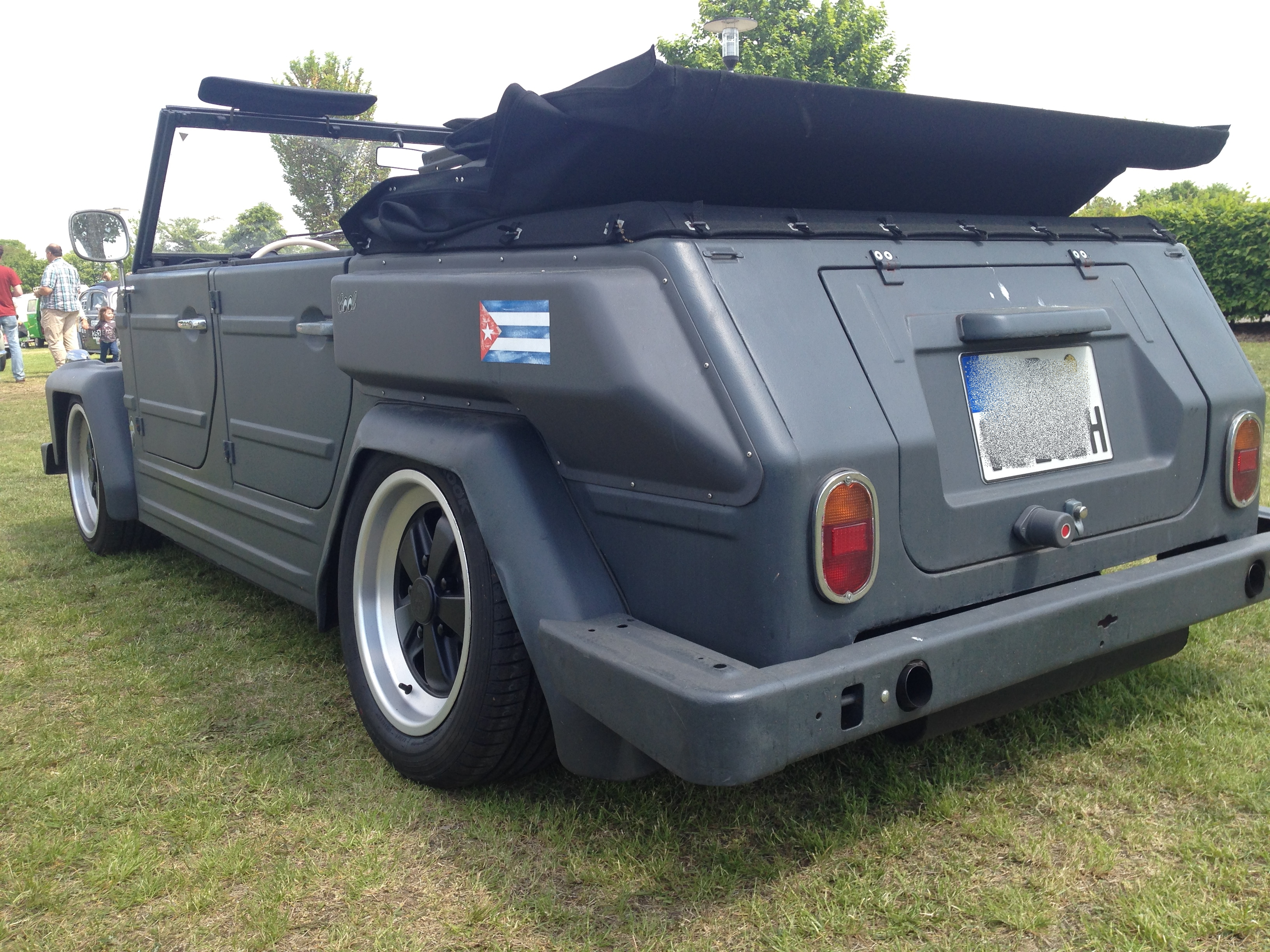 what a pretty vw k belwagen on fuchs rims and dropped so cool though. Black Bedroom Furniture Sets. Home Design Ideas
