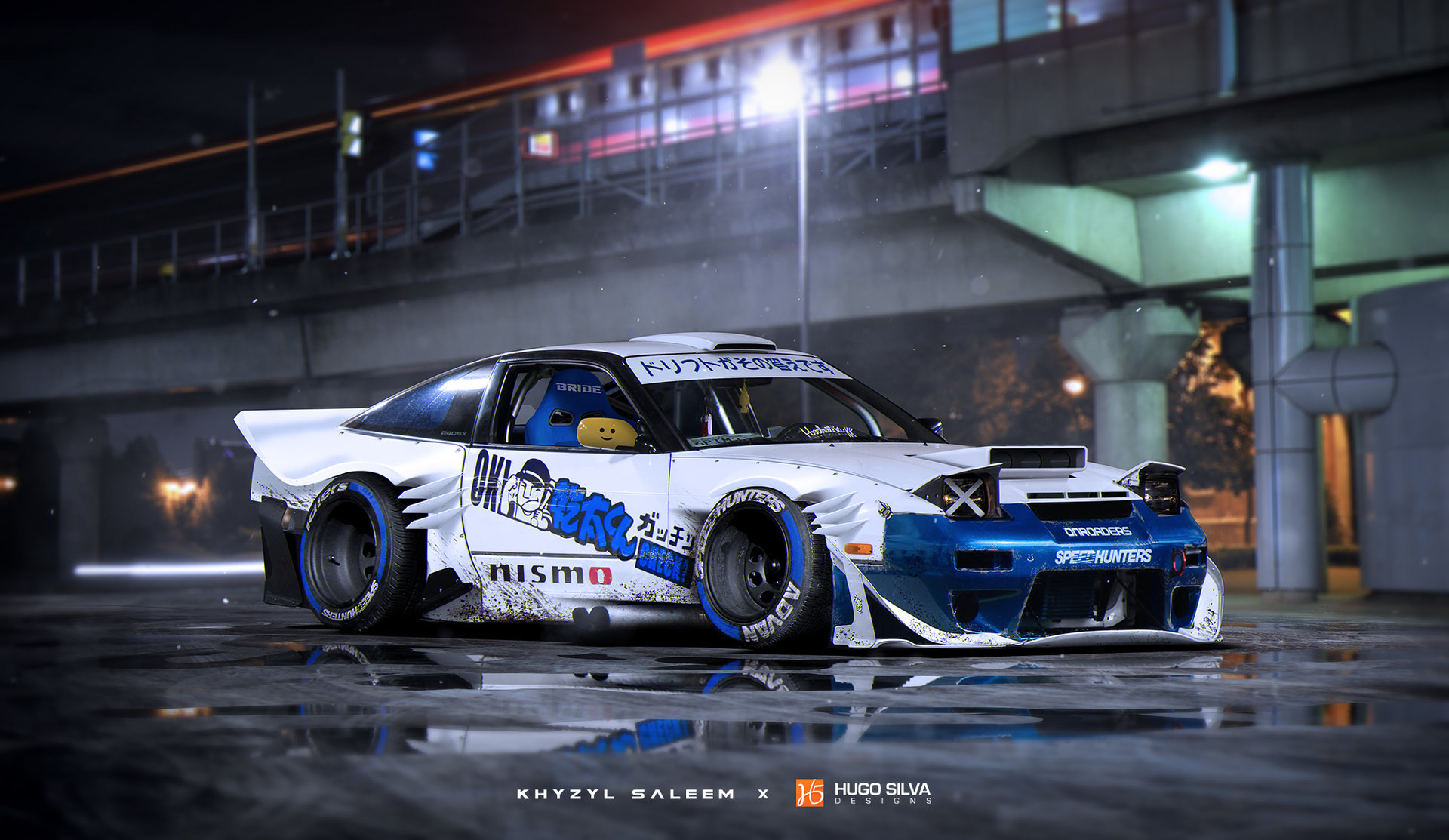 240sx Fairlady >> Khyzyl Saleem designs are absolutely amazing. Find his designs here: https://www.artstation.com ...