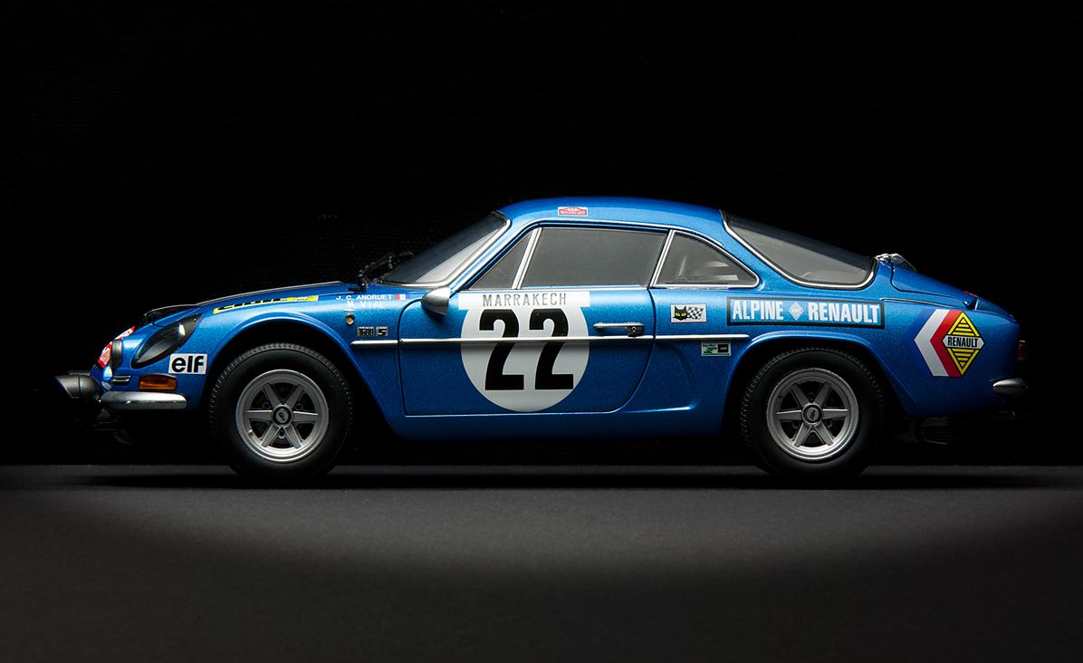 Renault Alpine A110 Rally Version