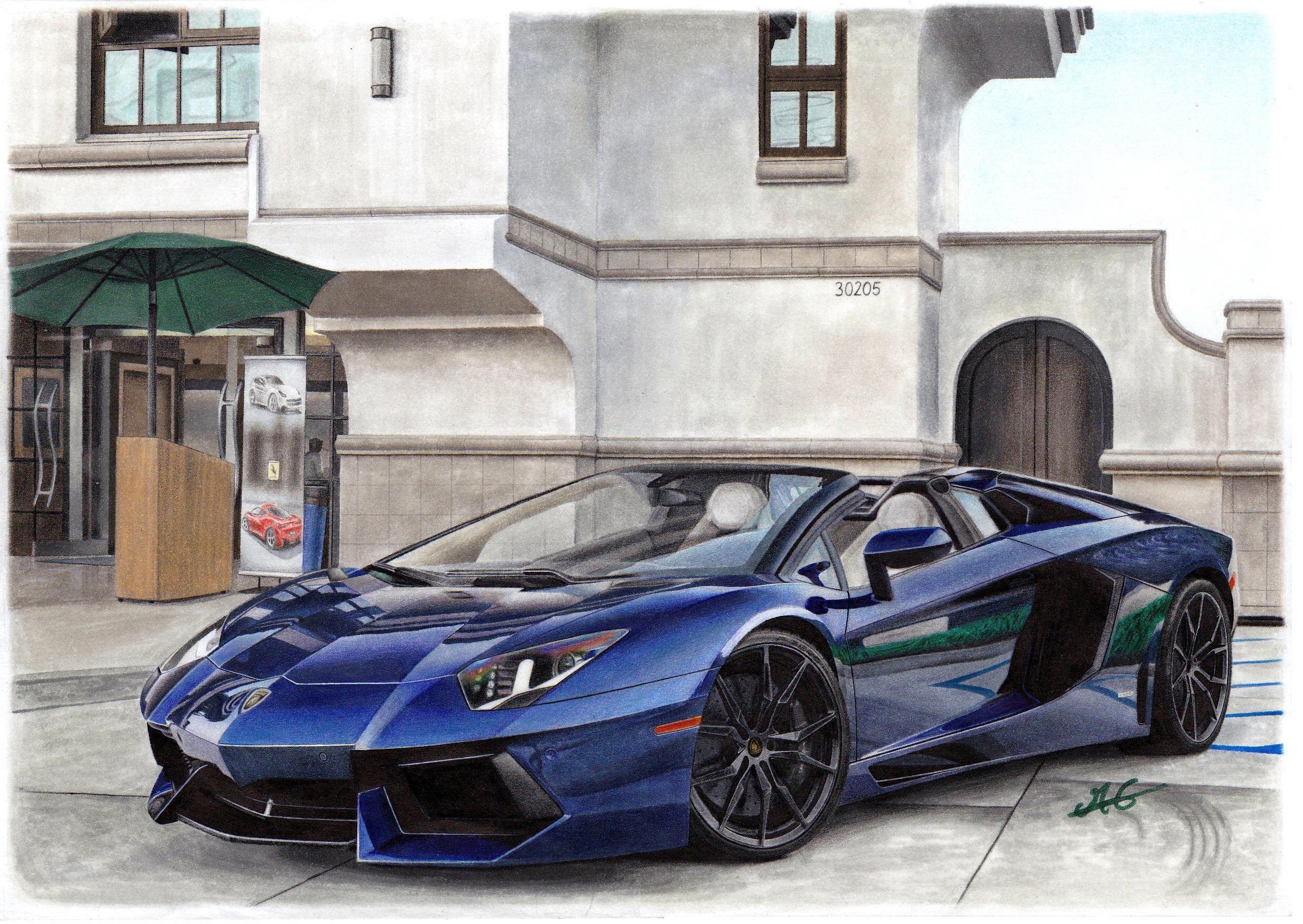 Hi Everyone Here S My Latest Job Lamborghini Aventador Roadster
