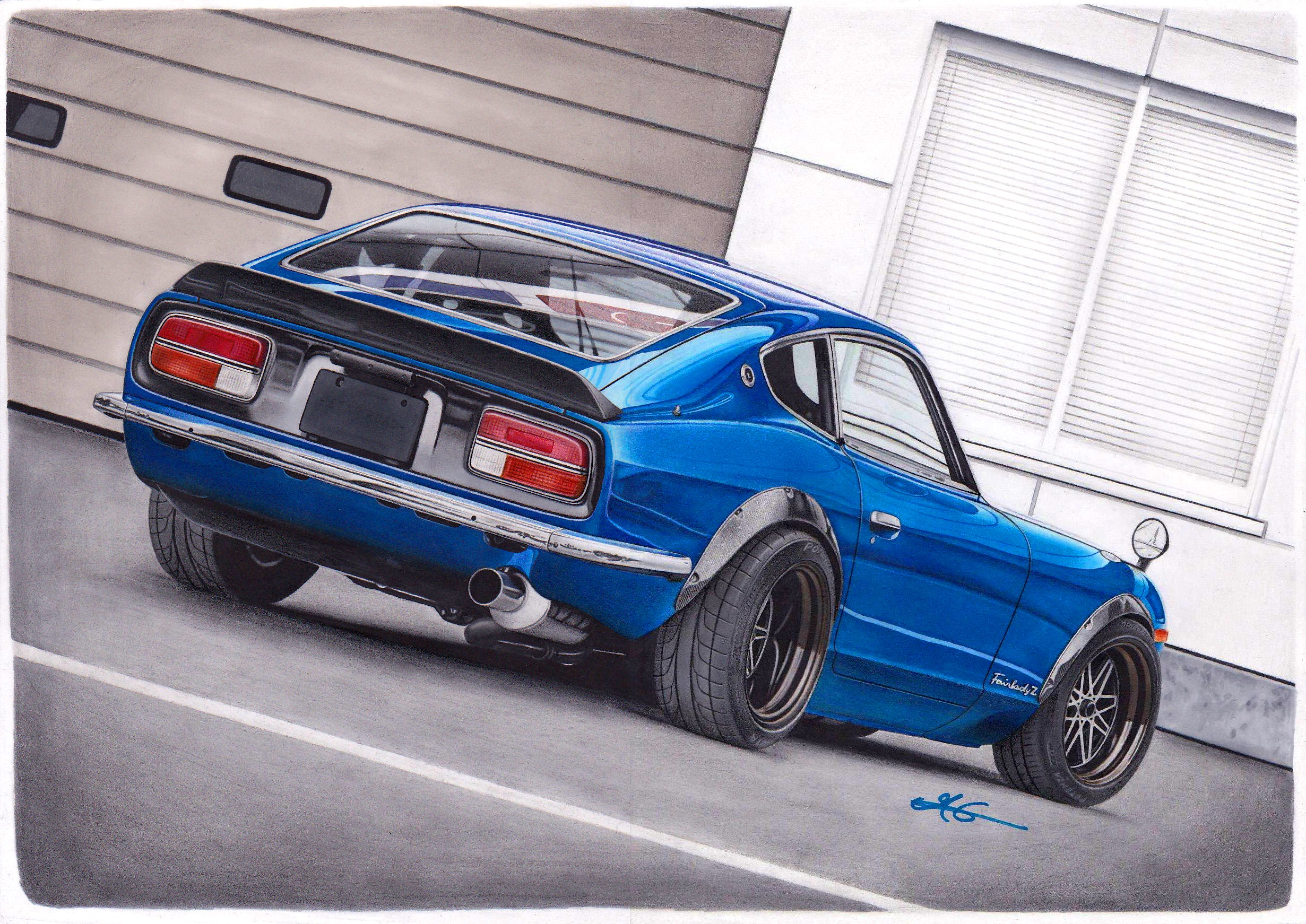 Hey Guys Here S My Latest Drawing Star Road S Nissan