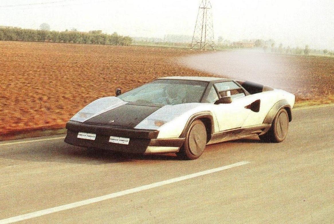 A Rare And Forgotten Piece Of History The Lamborghini Countach