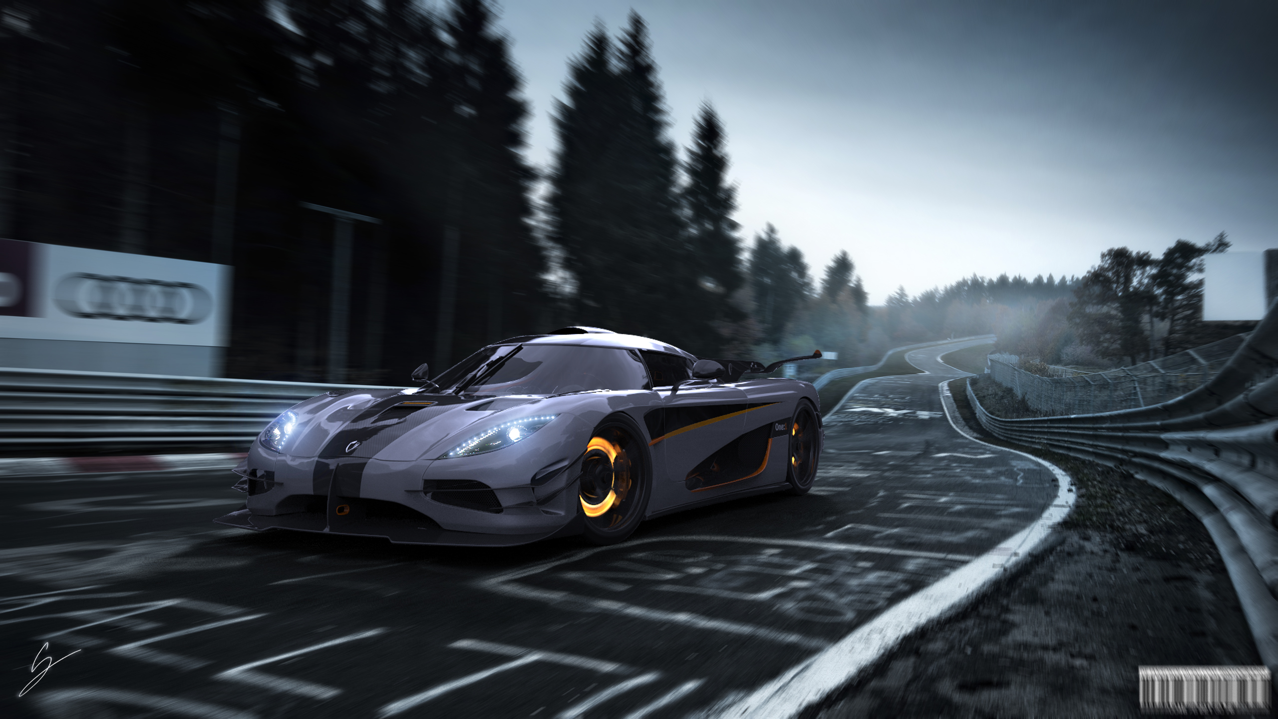koenigsegg one 1 at the ring