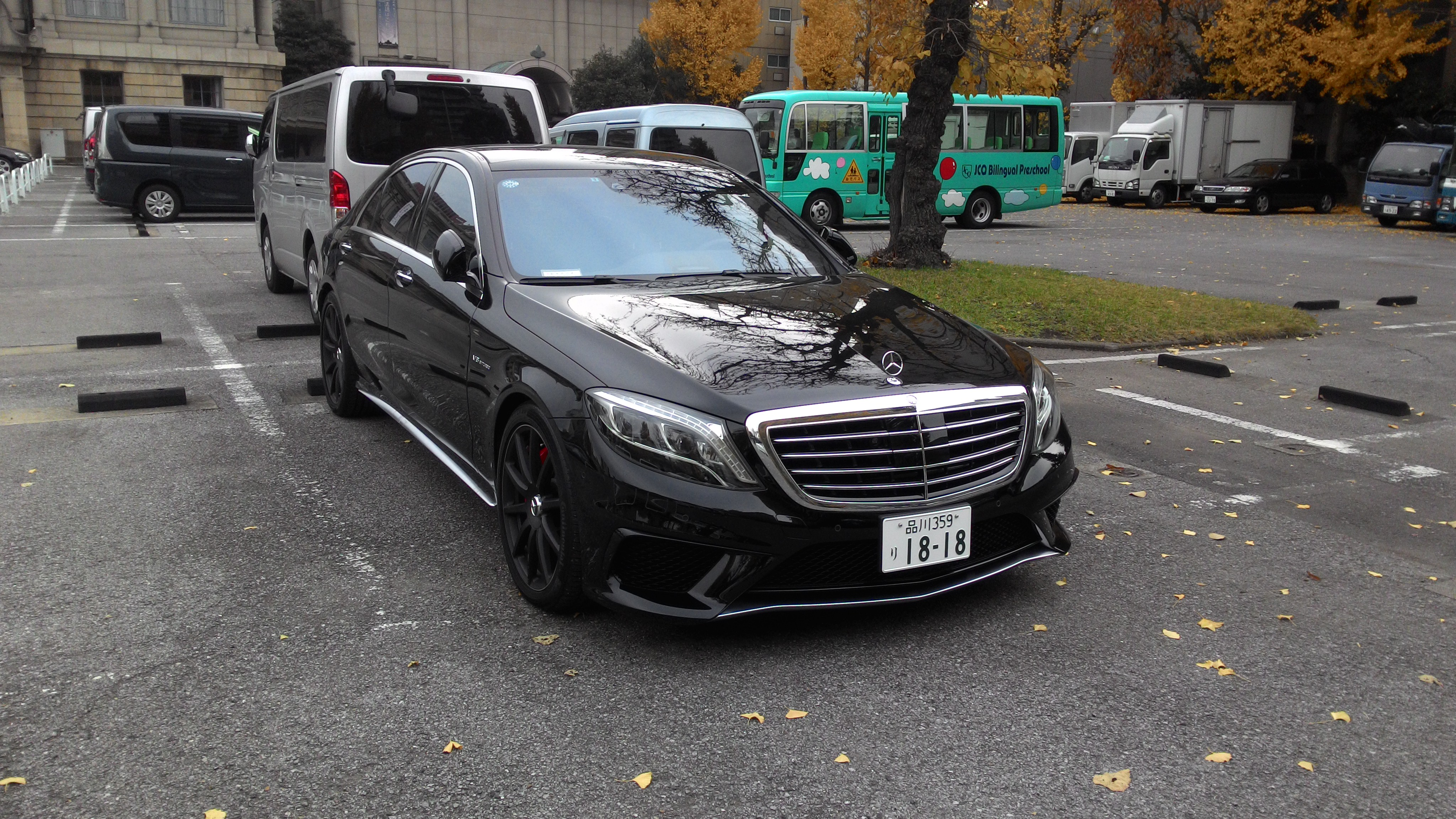 2014 mercedes benz s63 amg 4matic in tokyo japan for 2014 mercedes benz s63