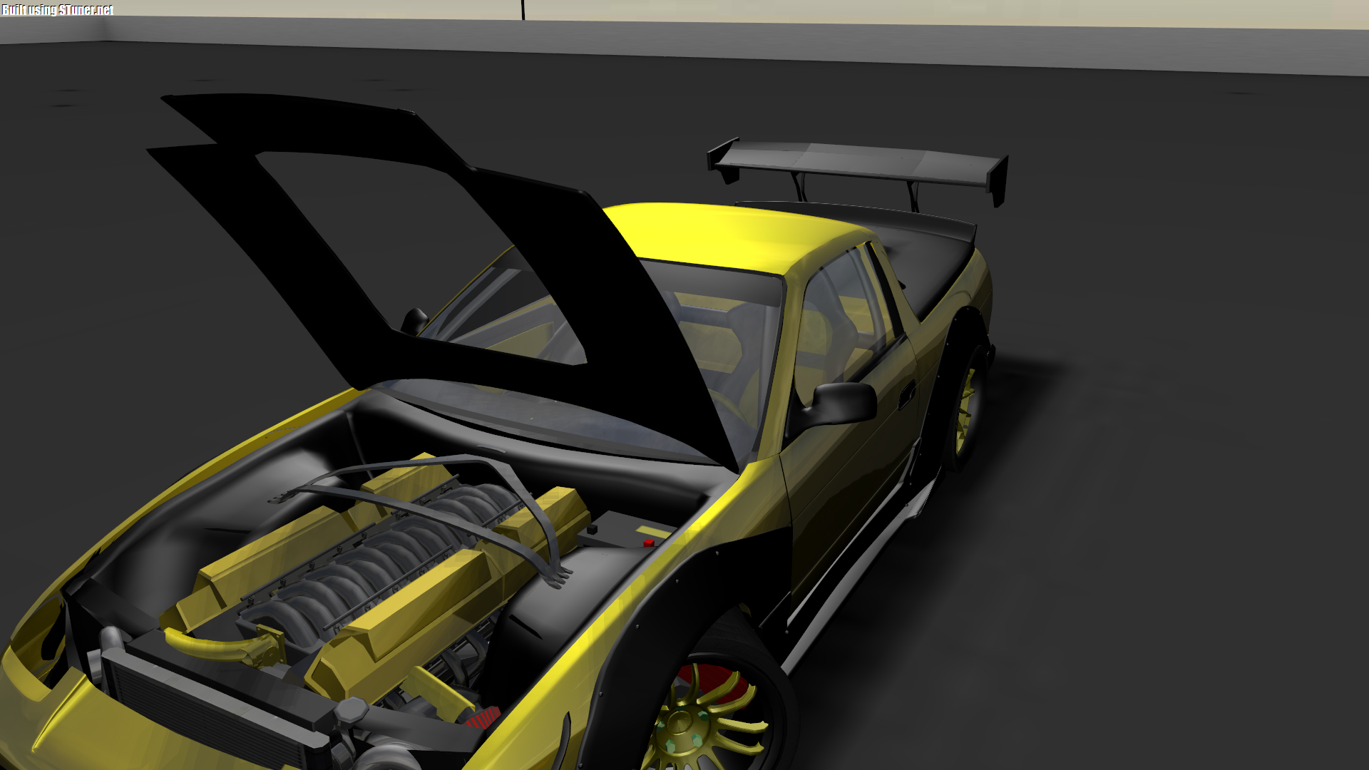 Look what I do in S-tuner. S13 with V20 engine! Not 20 valves in 5 ...