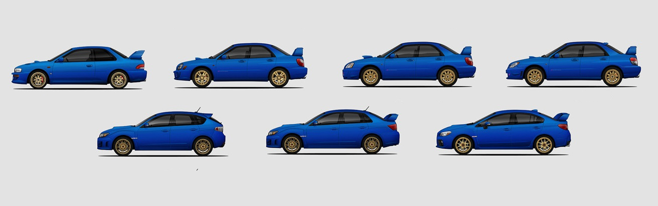 Any Subie Lovers What S Your Favourite Model