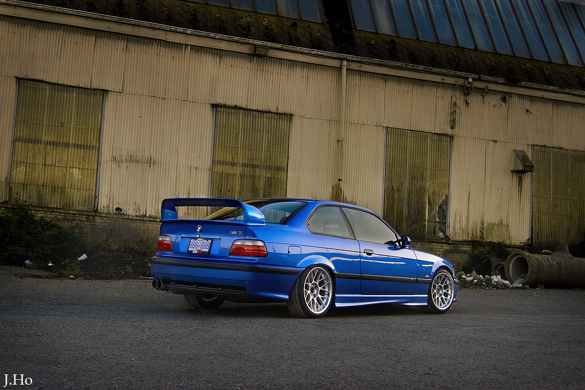 Bmw E36 M3 Blue And Grey