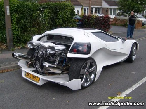 I Would Say This Is A Weird Car But It Looks Cool And It Looks Fast - Cool custom cars