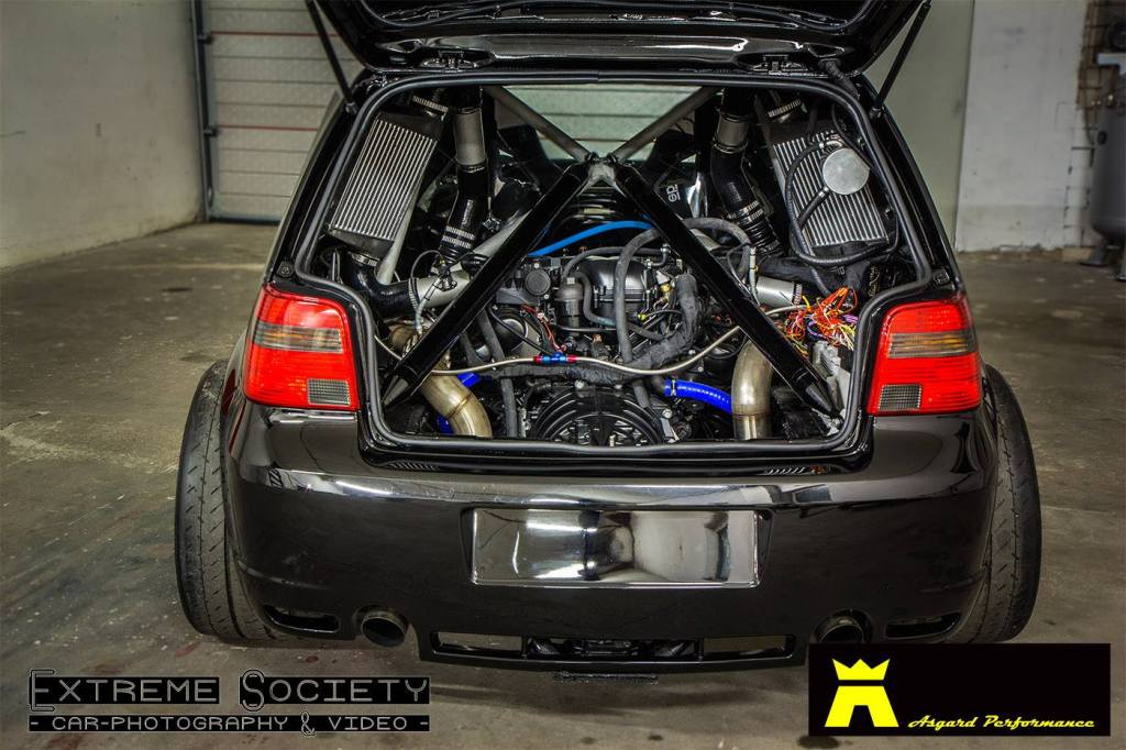 Incredible This Is Madness Lamborghini Twin Turbo V10 Powered Mk4 Golf Making Wiring 101 Carnhateforg