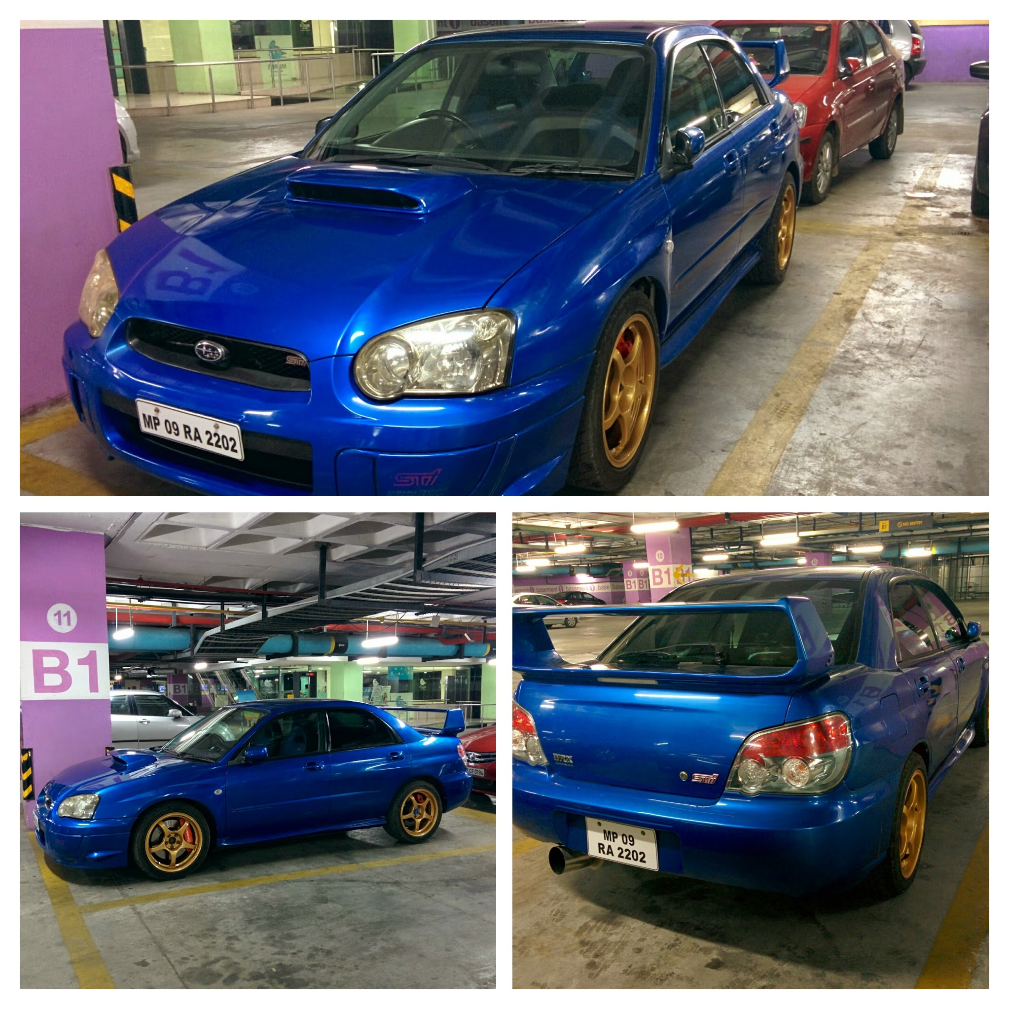 You rarely spot a Subaru on the streets no matter which country you