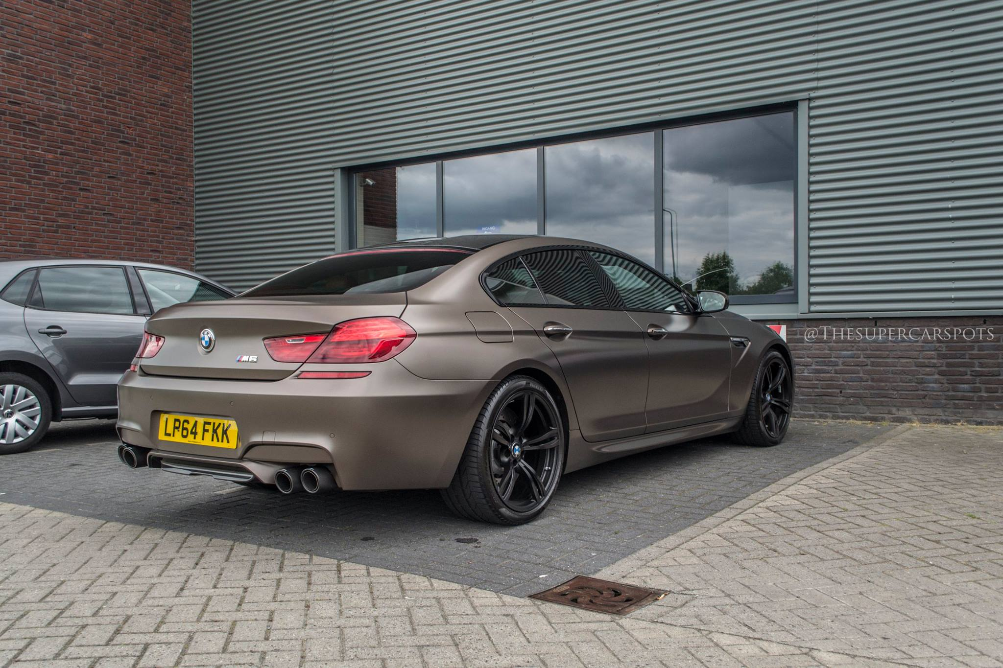 700 hp 900 nm bmw m6 gran coup in matte copper. Black Bedroom Furniture Sets. Home Design Ideas