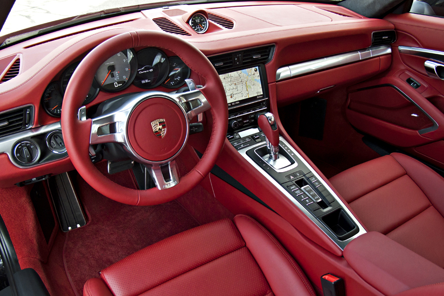 What Do You Guys Think About Red Leather Interiors In Sports Cars