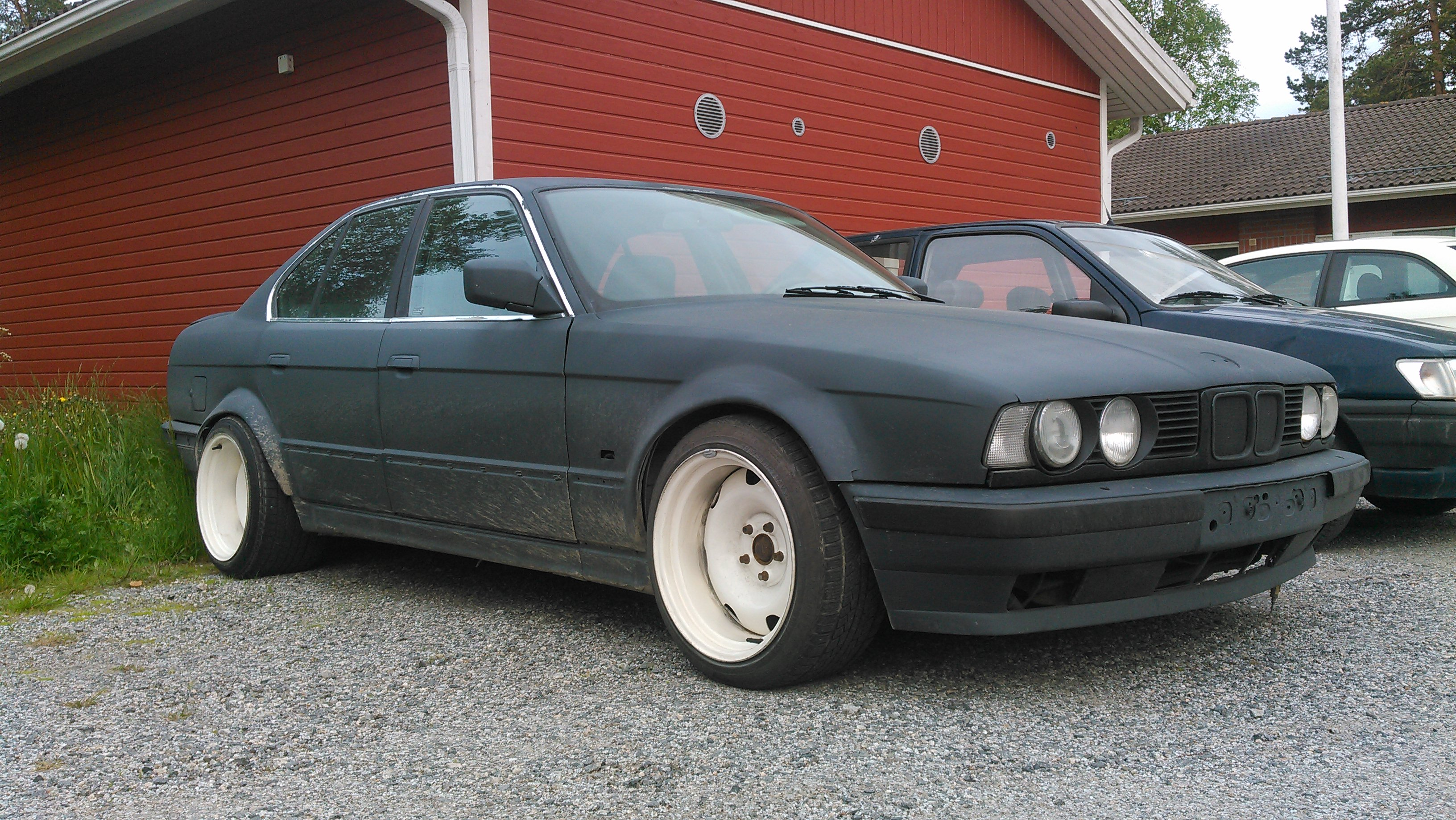My First Real Project Car Bmw E34 525i With Handmade Widebody