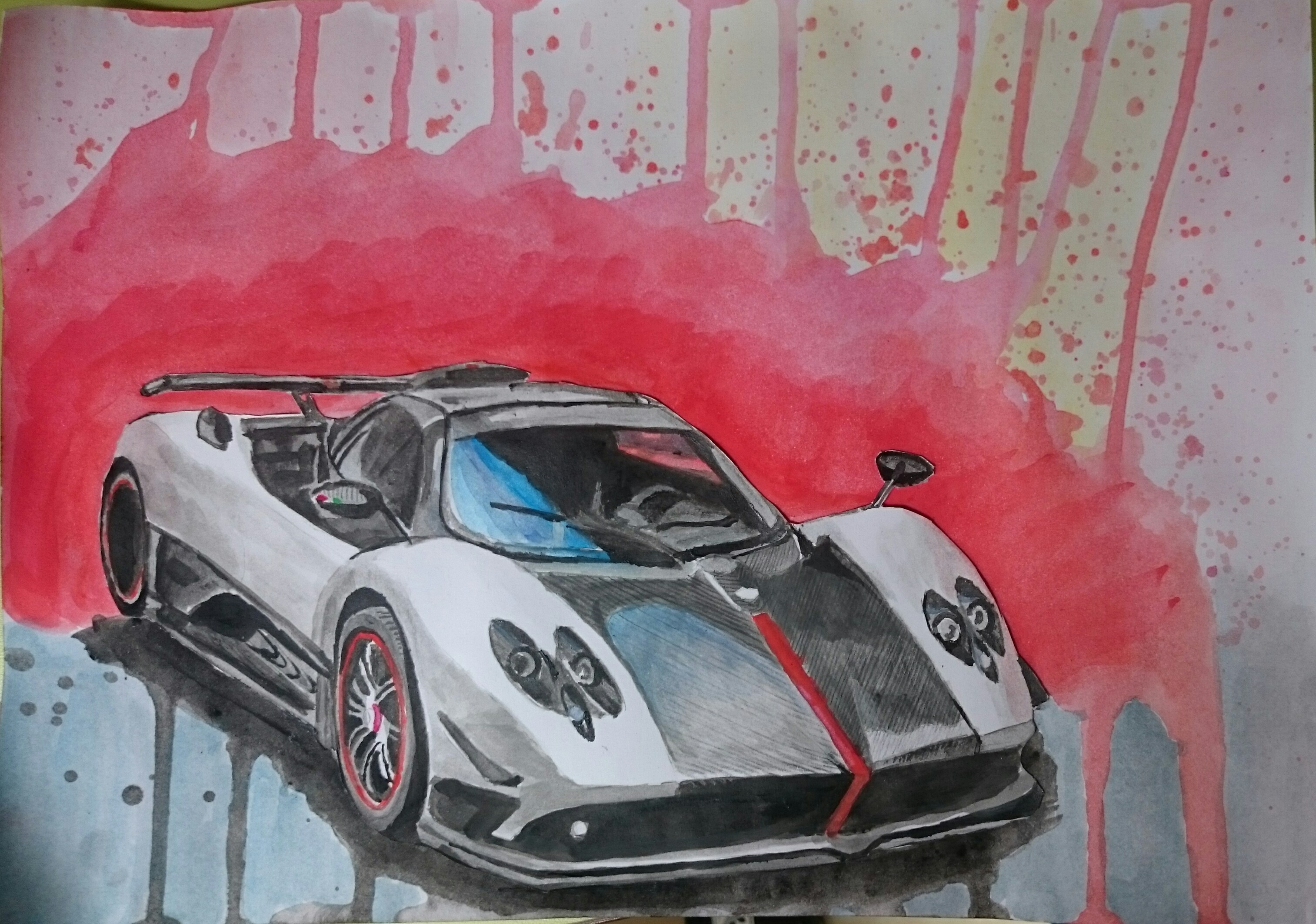 The Pagani Zonda Cinque is my favourite car. That\'s why I decided to ...