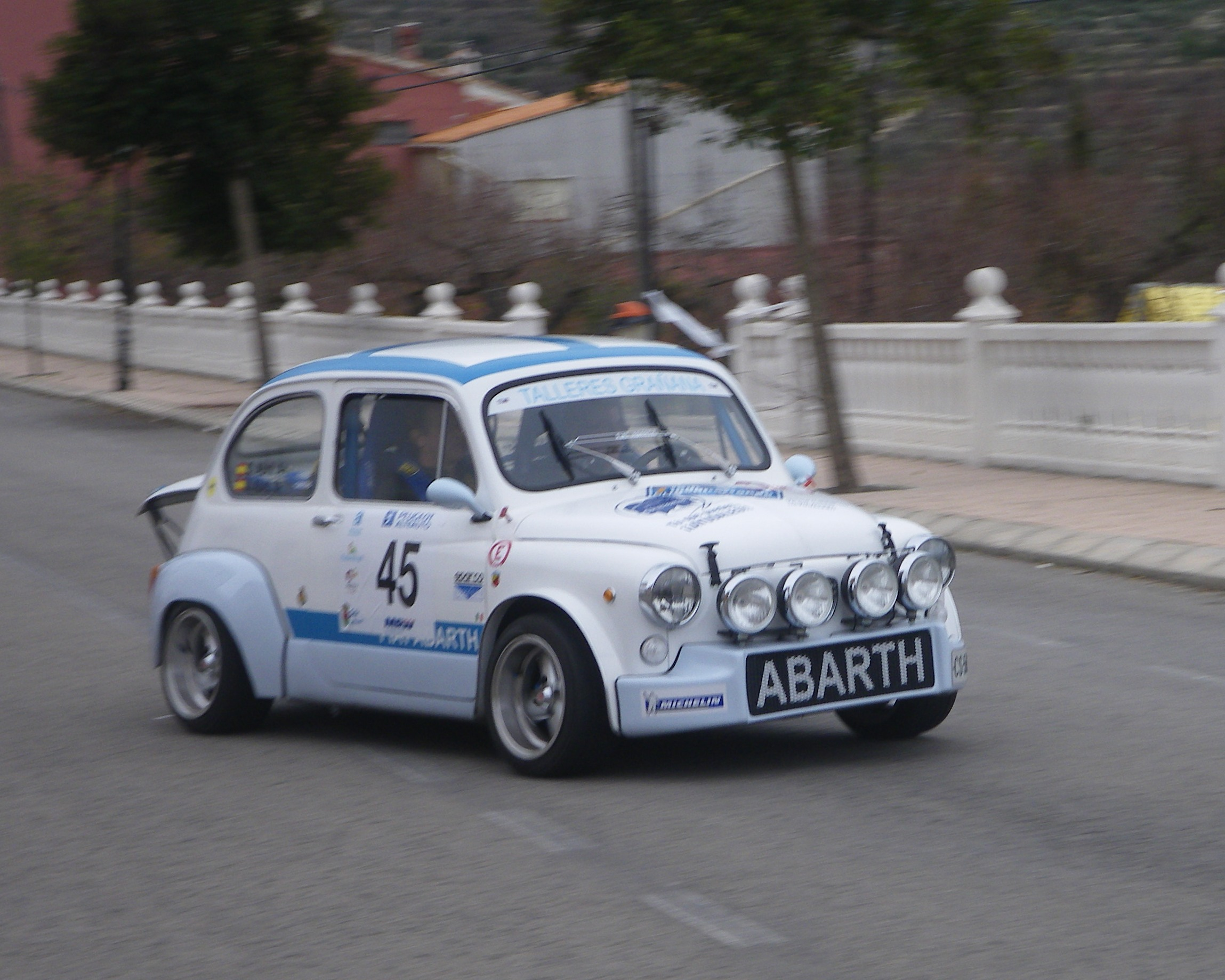 Here An Old Fiat 600 Abarth Just For You Guys
