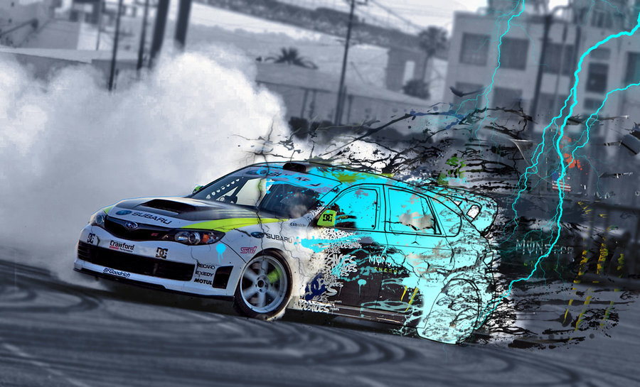Benz Drift Car >> subaru drift...
