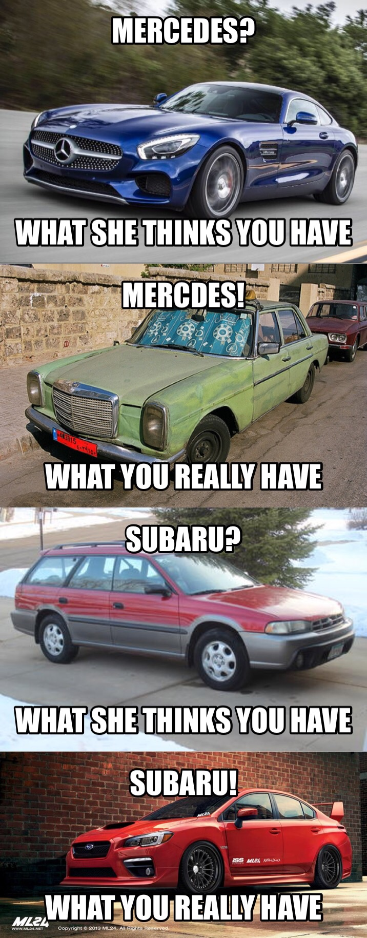 image 5580b4aa64f9b when girls hear you have a mercedes vs when girls hear you have a,Mercedes Meme