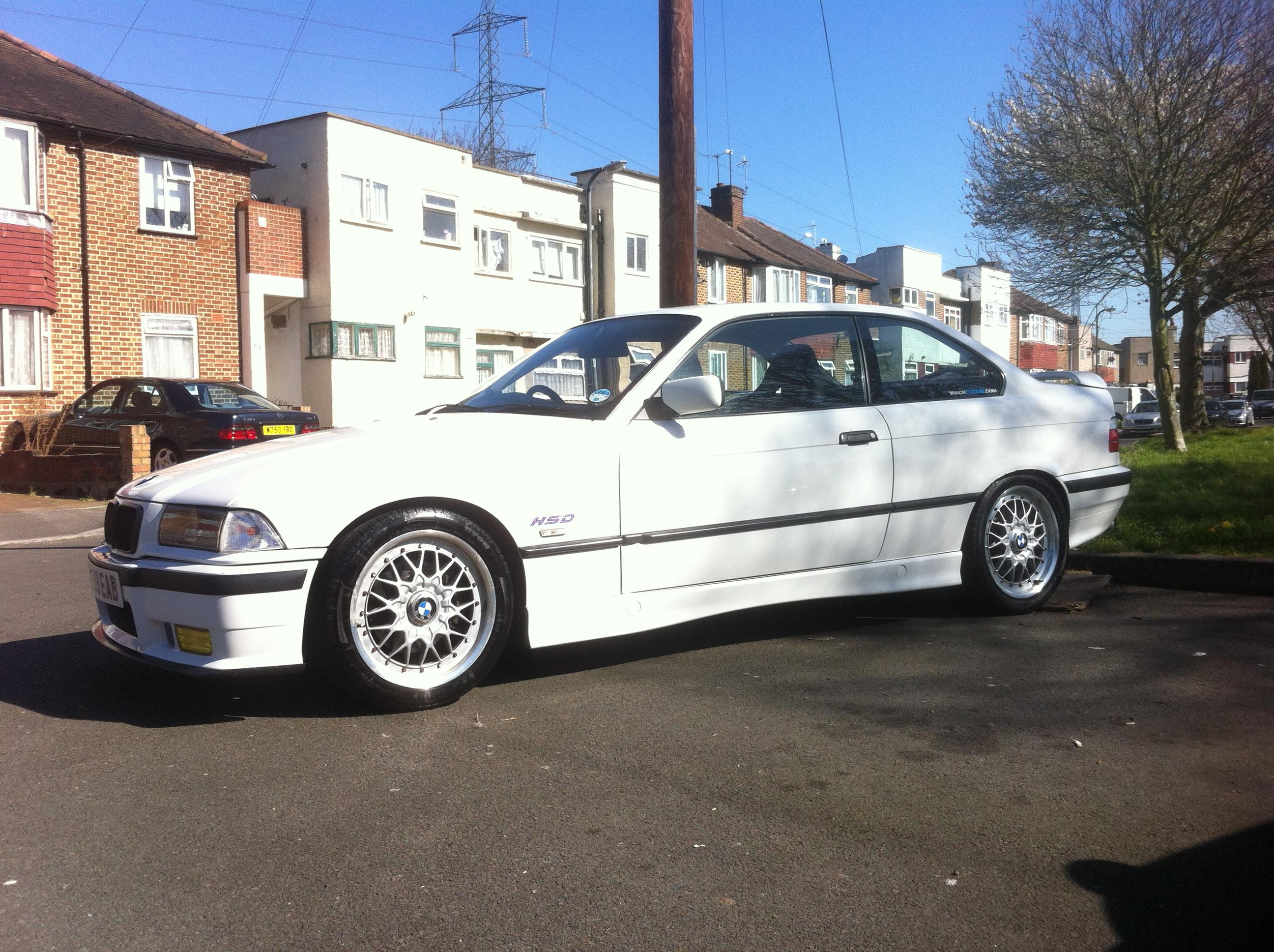 My old e36 coupe (328is) I absolutely loved this thing, until it
