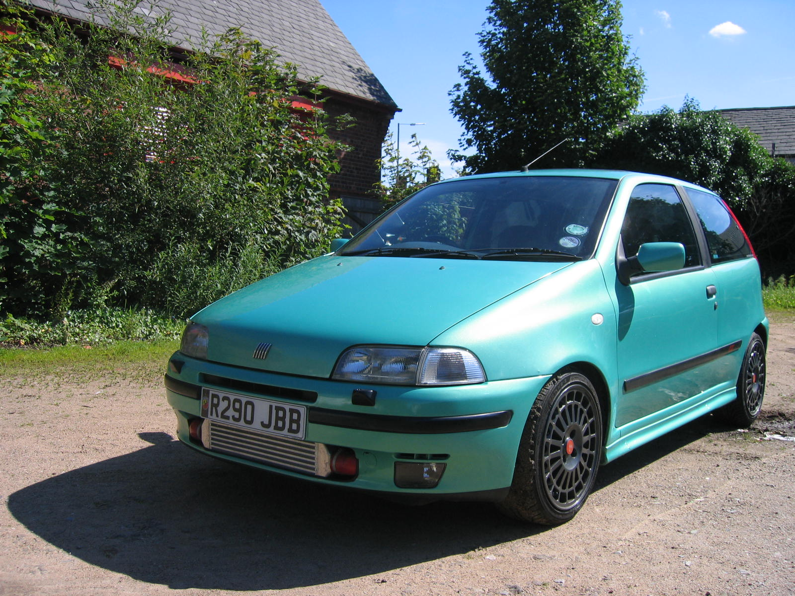 my old fiat punto gt the car that started it all 1 4 turbocharged 8v with shocked. Black Bedroom Furniture Sets. Home Design Ideas