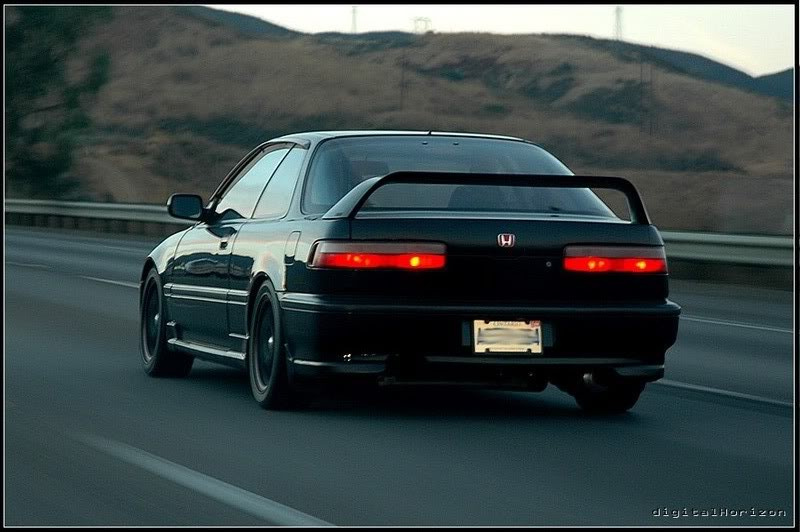 DA Integra With The Hiro Wing - Acura integra type r wing