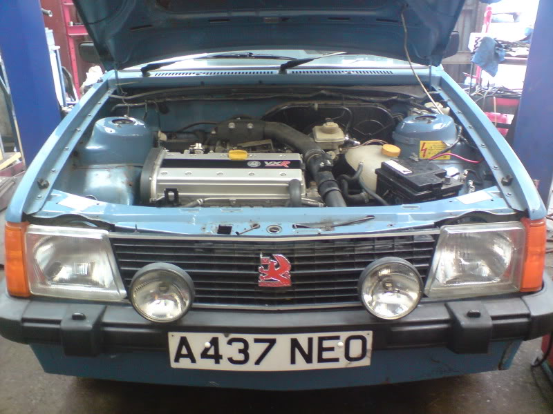 Kadett with 07 astra vxr engine i need this in my life for I need a motor for my car