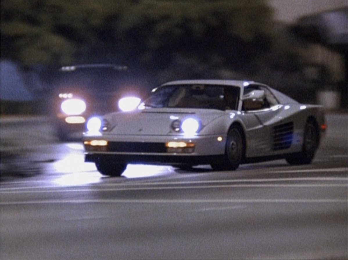 This Was The White Ferrari Testarossa The Was Used In Miami Vice For Me One Of The Most Iconic Ferraris Ever Made Any Miami Vice Fan
