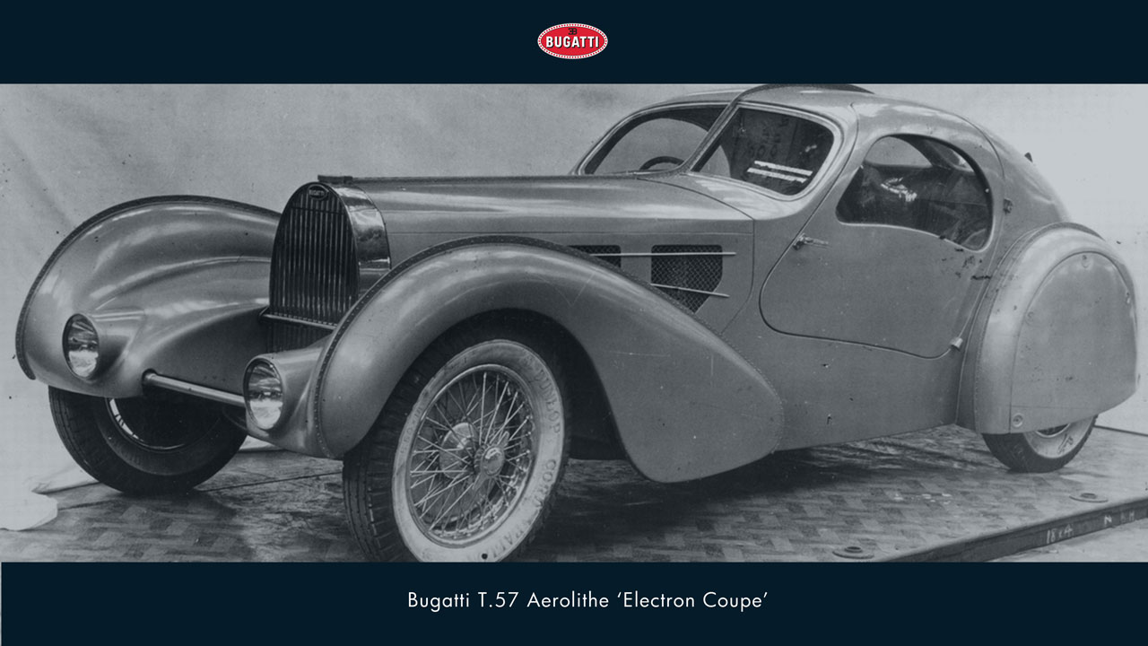 this us the rarest picture of a car. the bugatti aerolithe. about