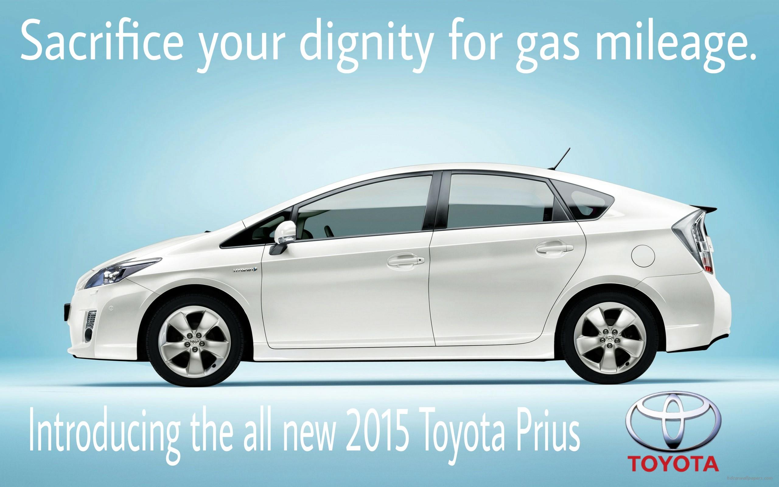 Fake Car Ad Toyota Prius