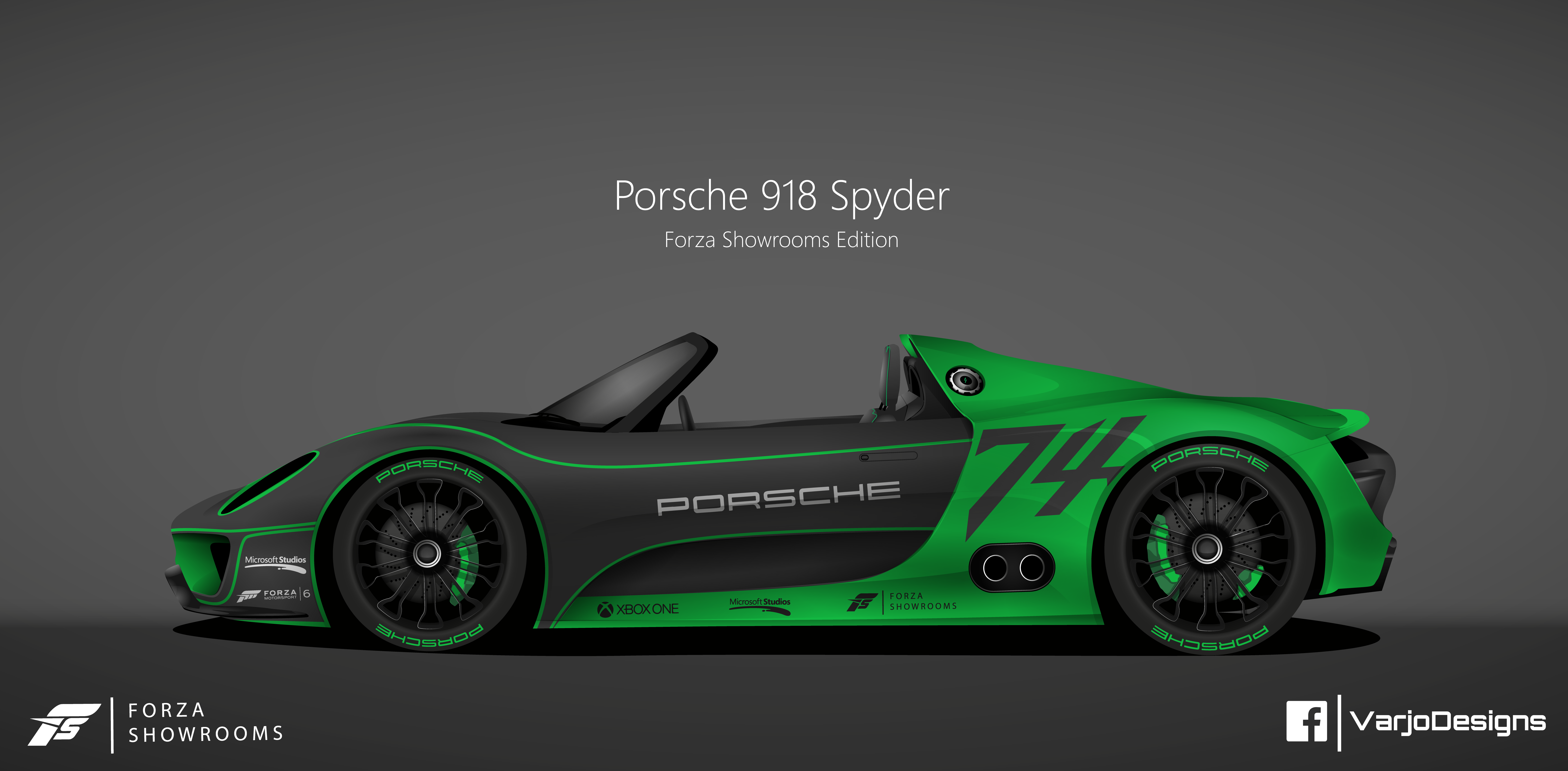 what do you think about my illustration of an porsche 918. Black Bedroom Furniture Sets. Home Design Ideas