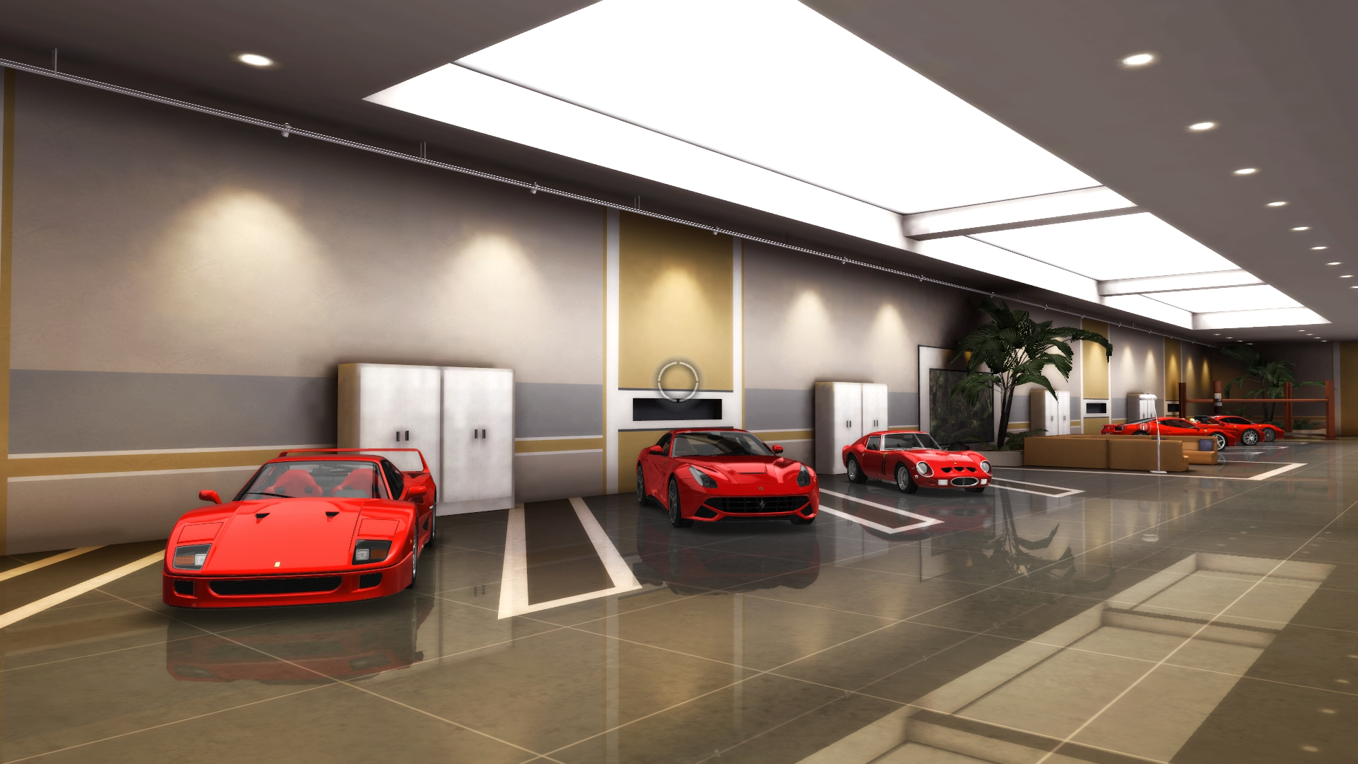 Share your tdu2 garages for Garage ad gap