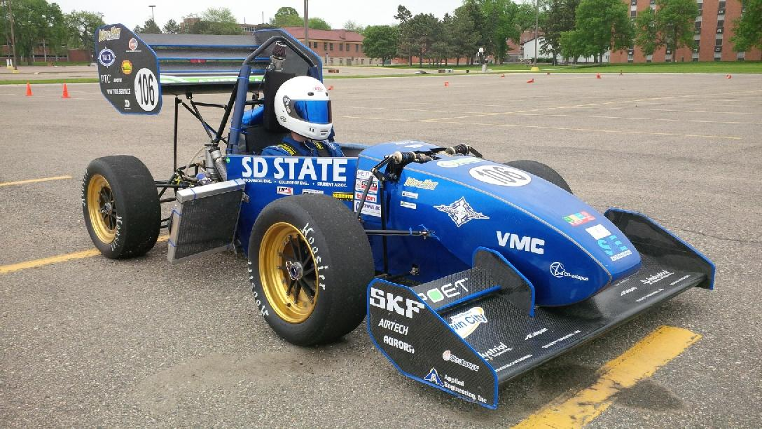 Our 2015 Fsae Car From Wild Hare Racing South Dakota