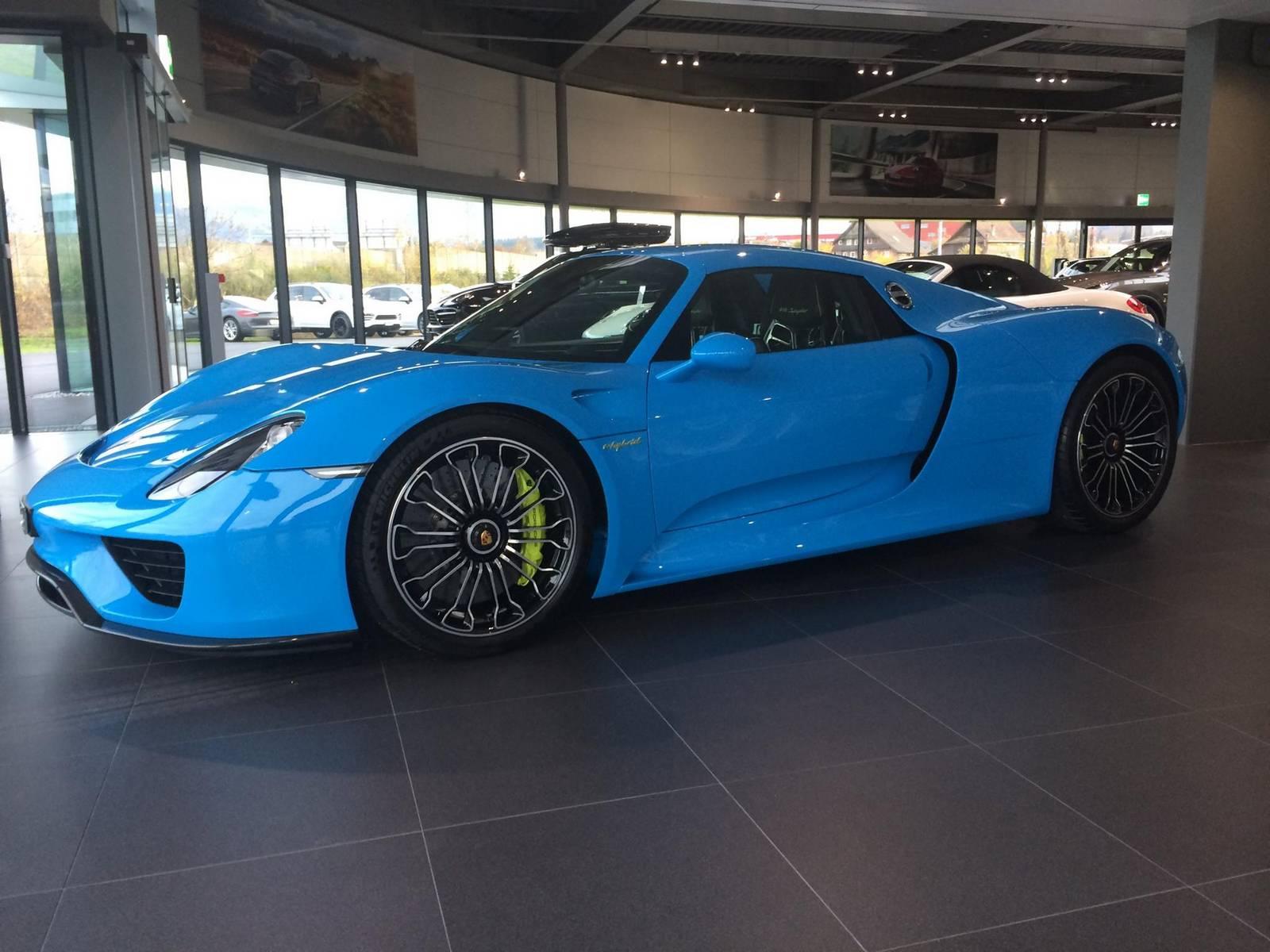 -5596fe38e94bf Stunning Porsche 918 Spyder Paint Job Cars Trend